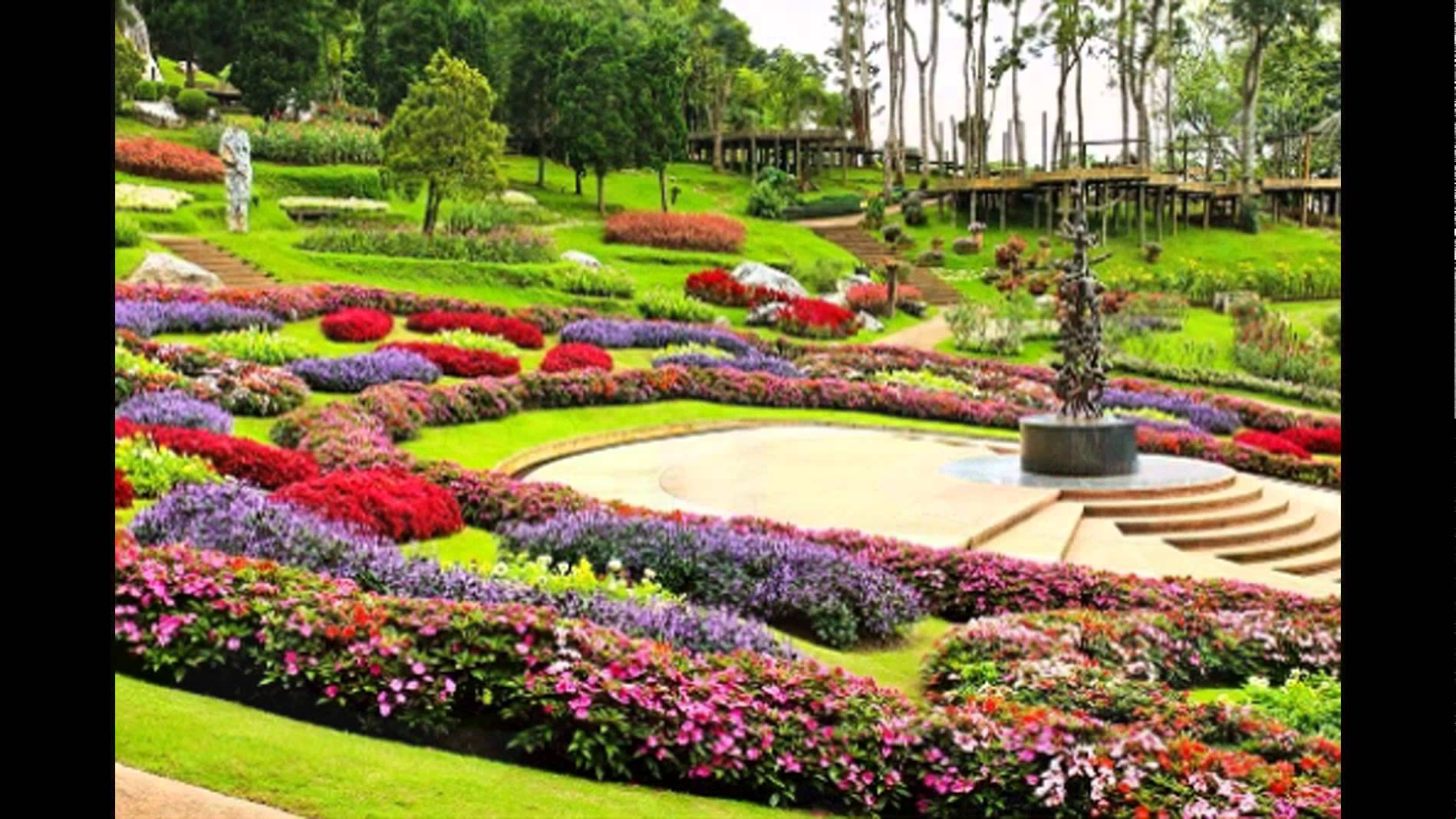 most beautiful gardens of the world - part 1 - YouTube