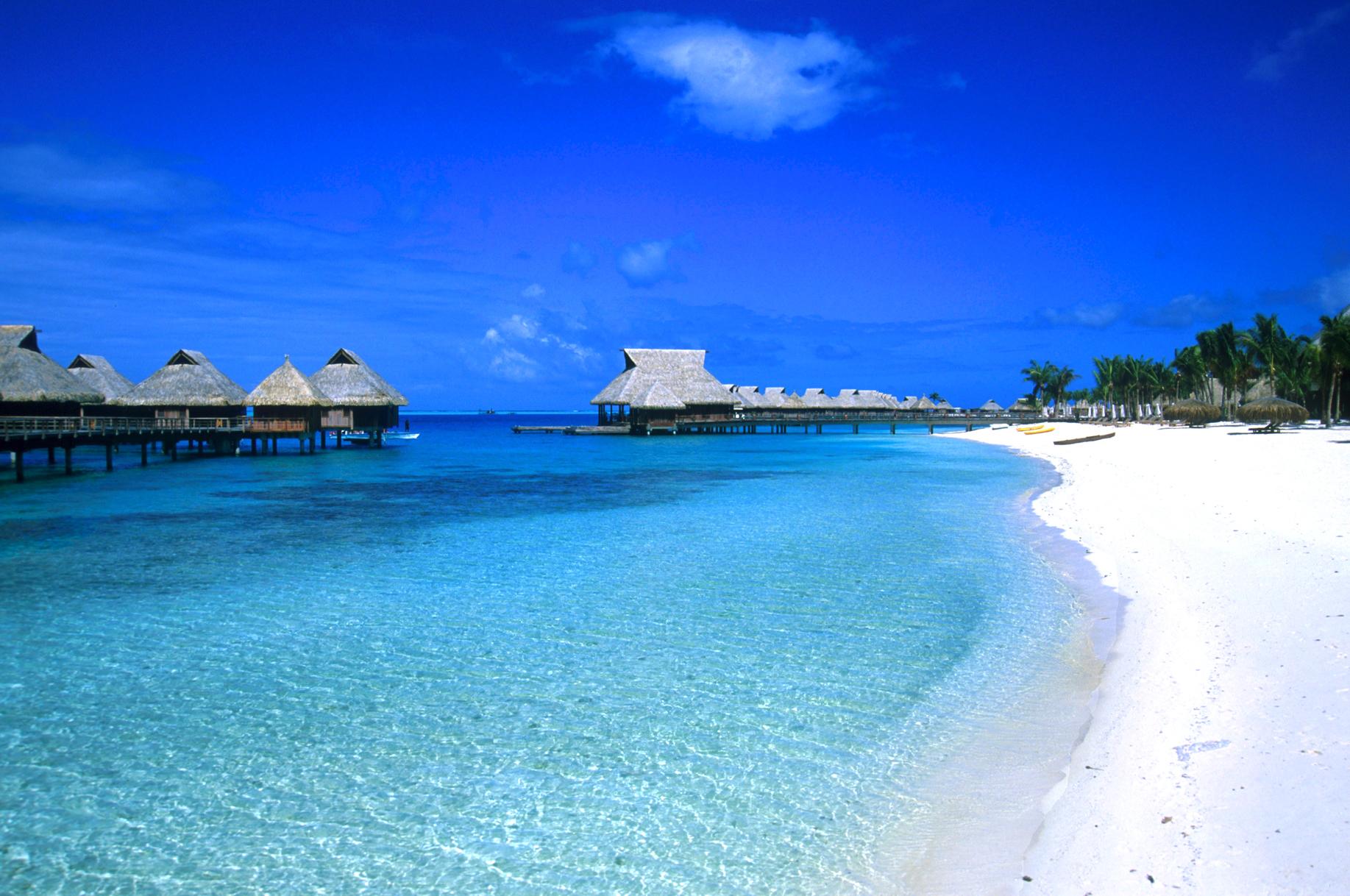The most beautiful island in the world-Bora Bora