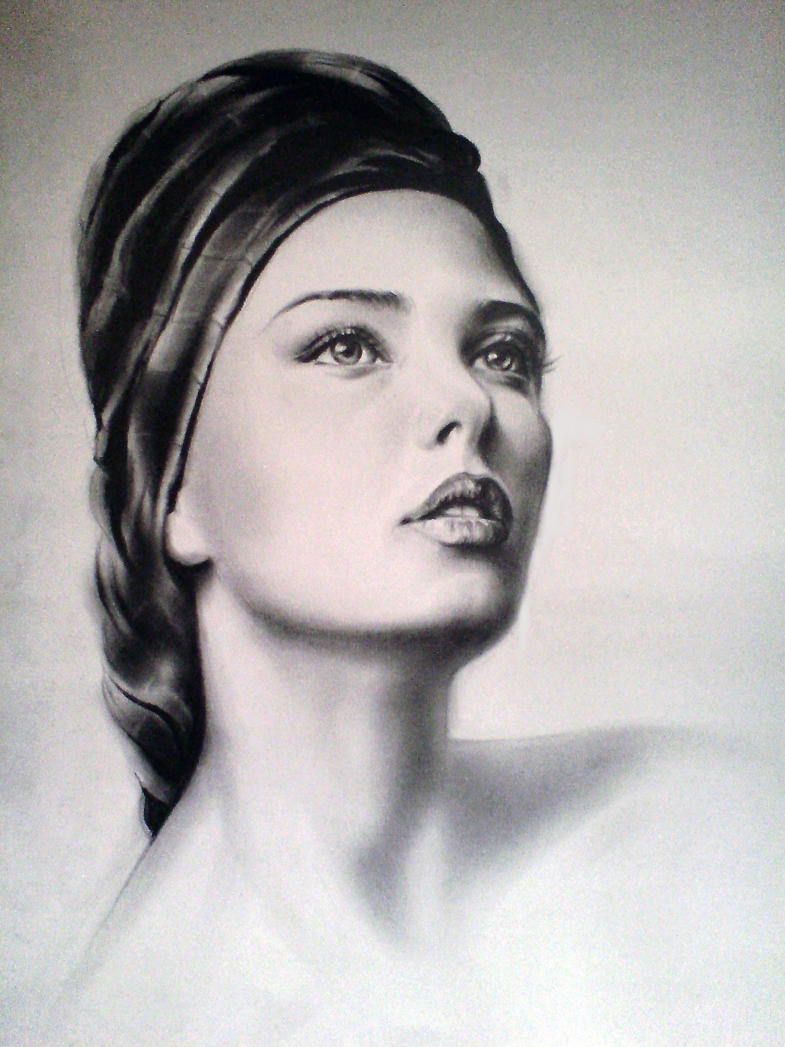 Beautiful Lady by shadagishvili on DeviantArt