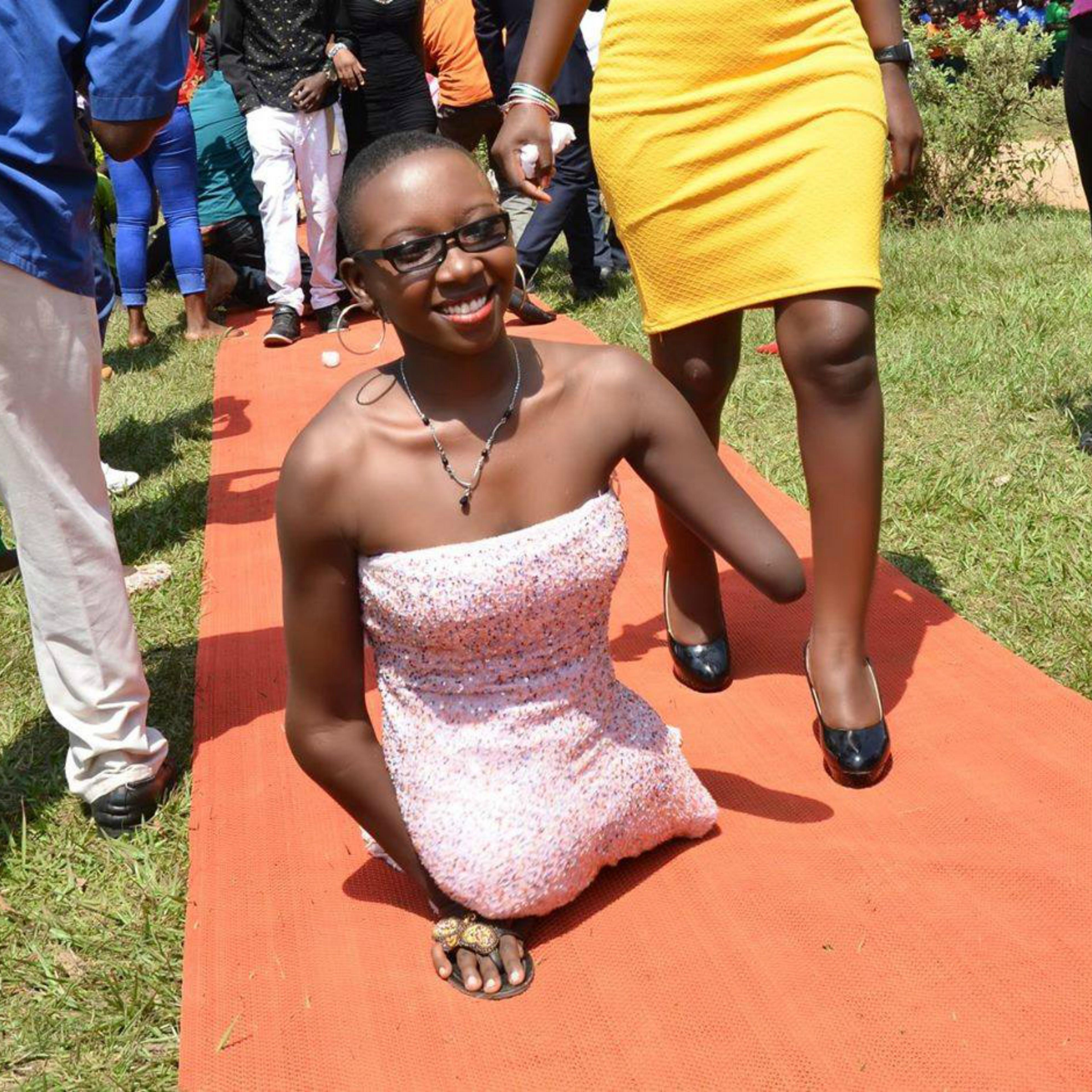Meet The Disabled Beautiful Kenyan Lady Giving Models Sleepless ...