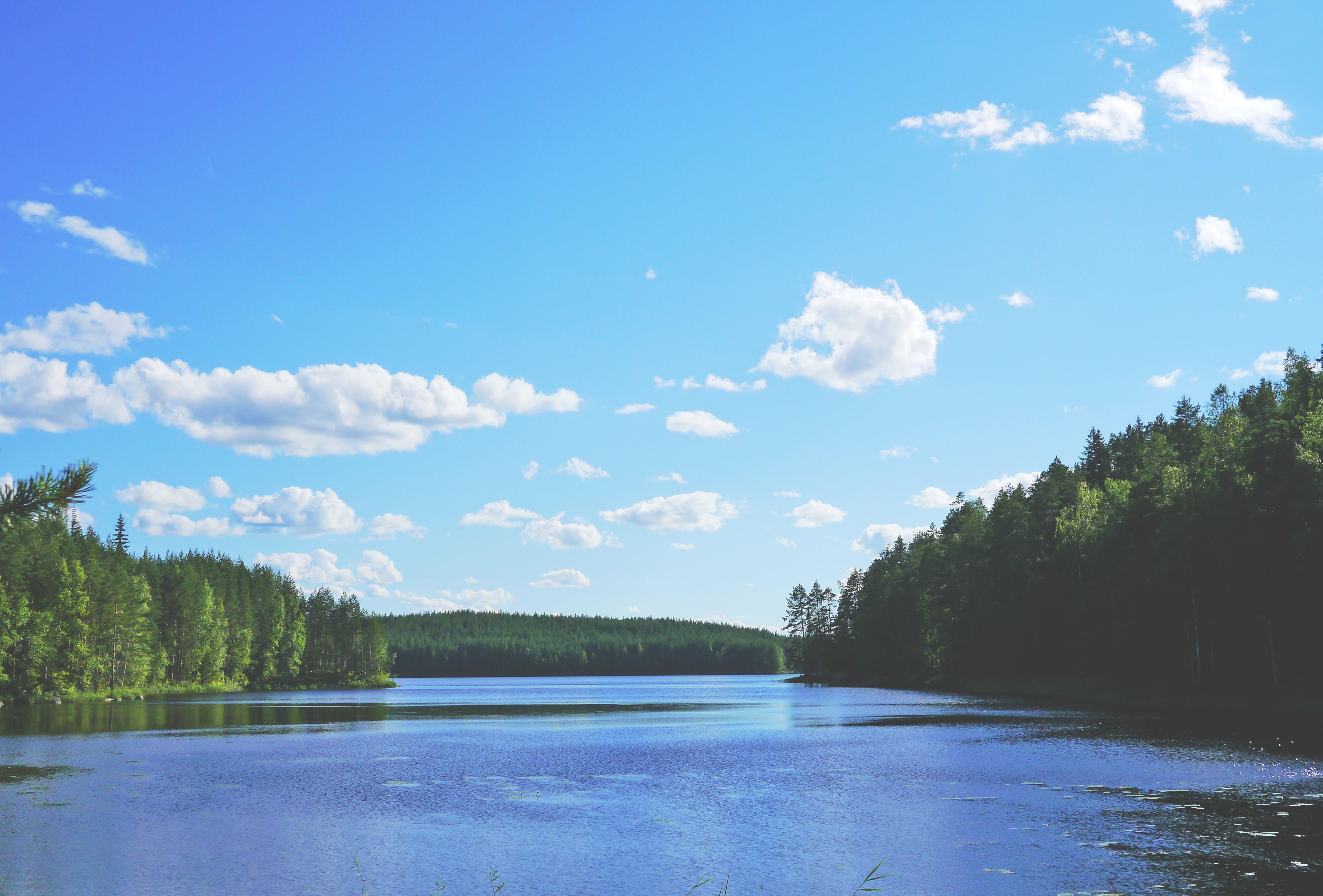 Beautiful Lake, Flow, Lake, Landscape, Nature, HQ Photo