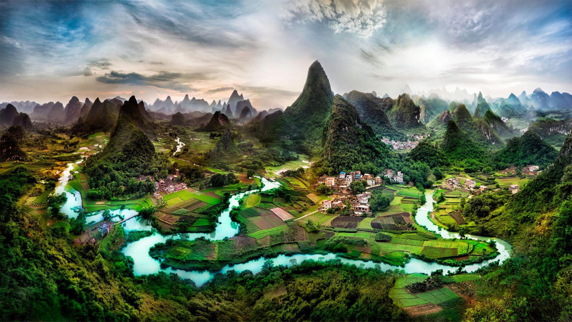 Beautiful Landscape Desktop Background Wallpaper - DreamLoveWallpapers