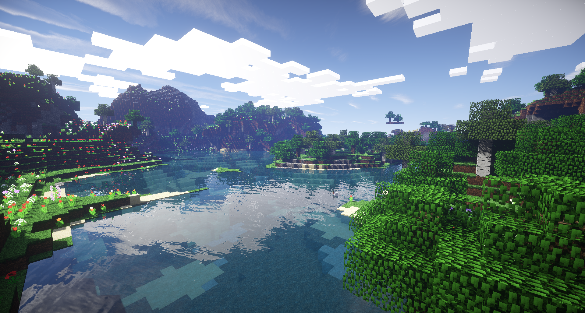 Beautiful landscape with alot of flowers. - Seeds - Minecraft: Java ...