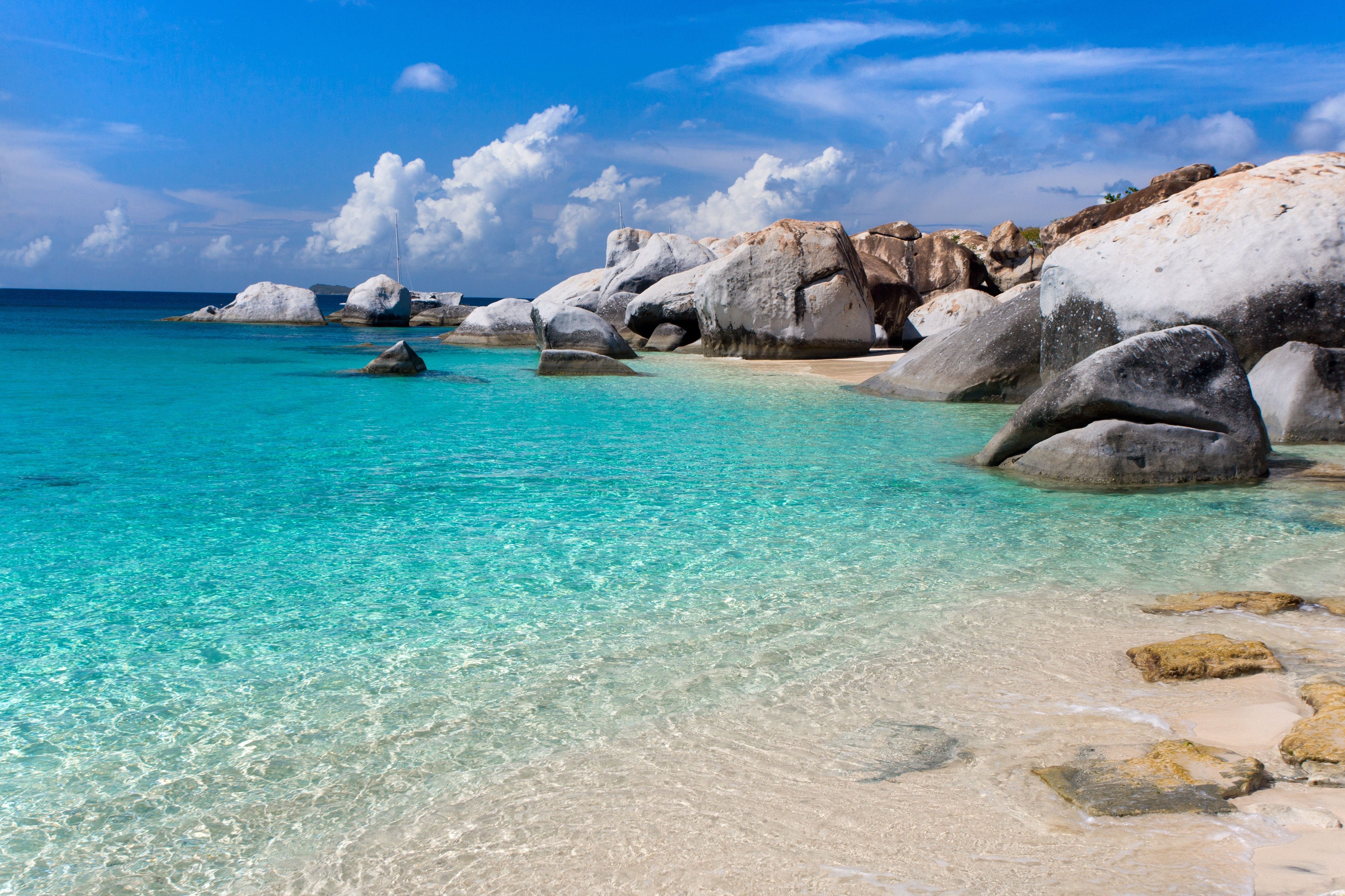 Calm Ocean Amazing Beach Beautiful Landscape Nature Ocean ...