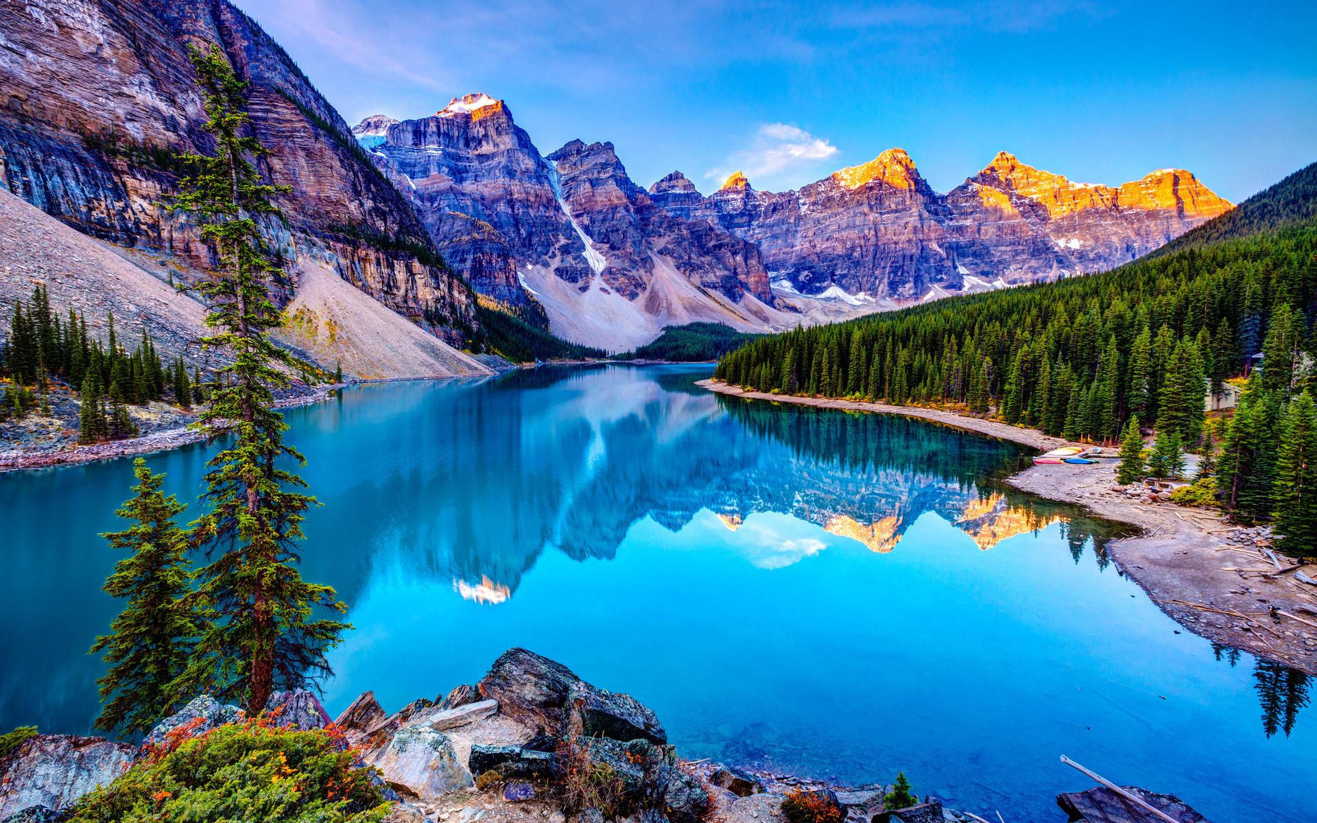 Widescreen Beautiful Mountain Hd Resolution Nature On Wallpaper High ...