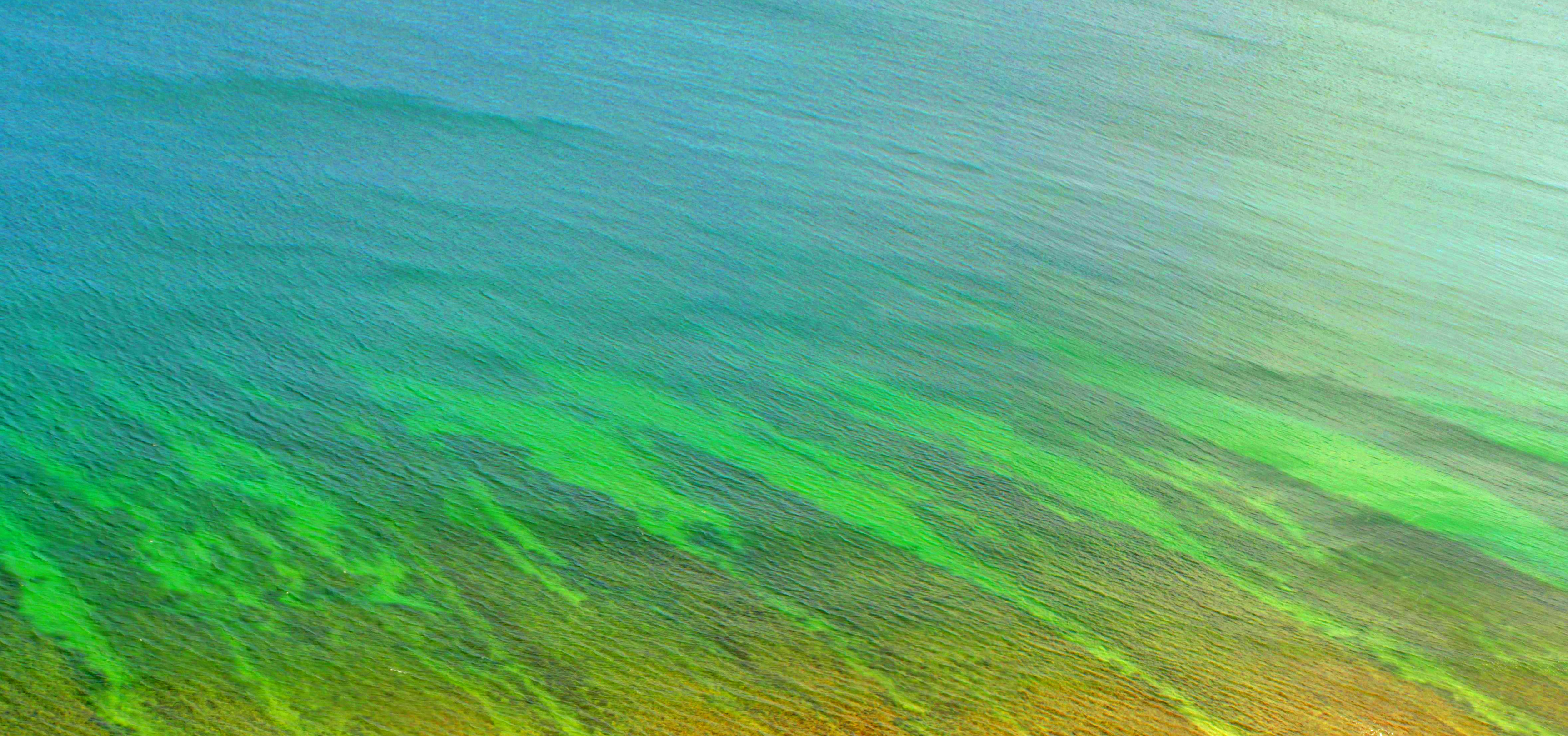 Beautiful natural pattern - ocean ripple photo
