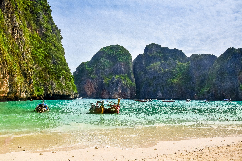 Beautiful Phi Phi Islands, Thailand, Andaman, Phi, Water, Tropical, HQ Photo