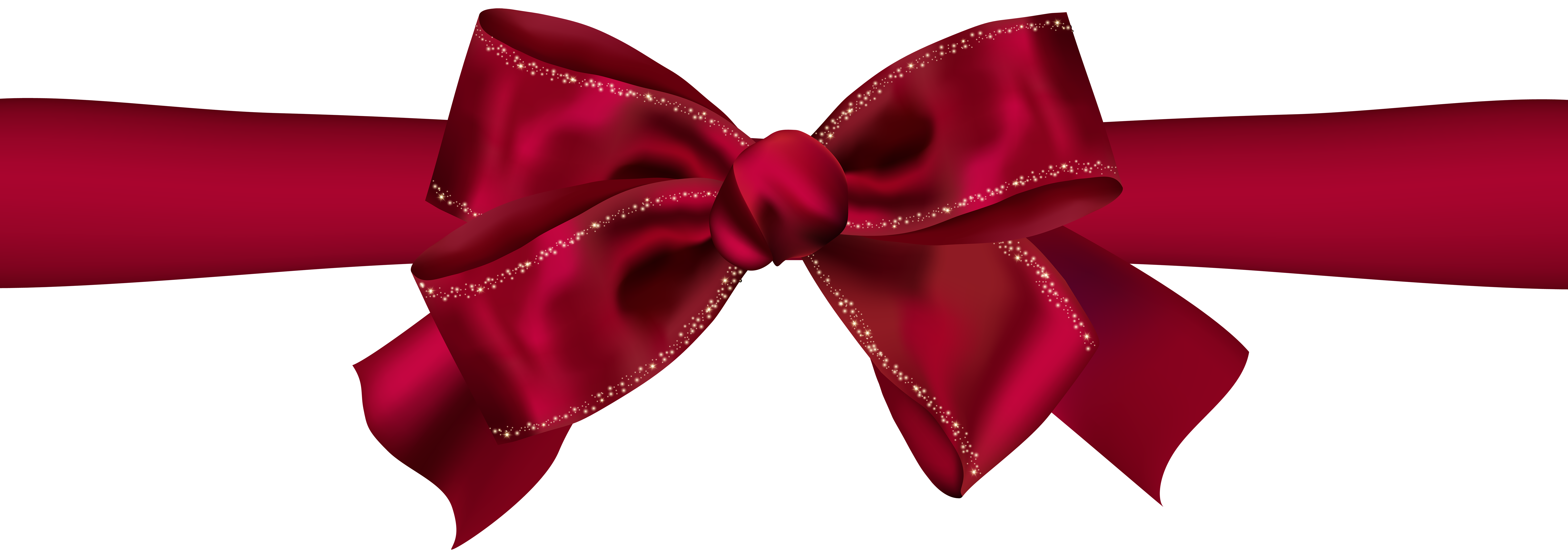 Beautiful Red Bow PNG Clip Art Image | Gallery Yopriceville - High ...