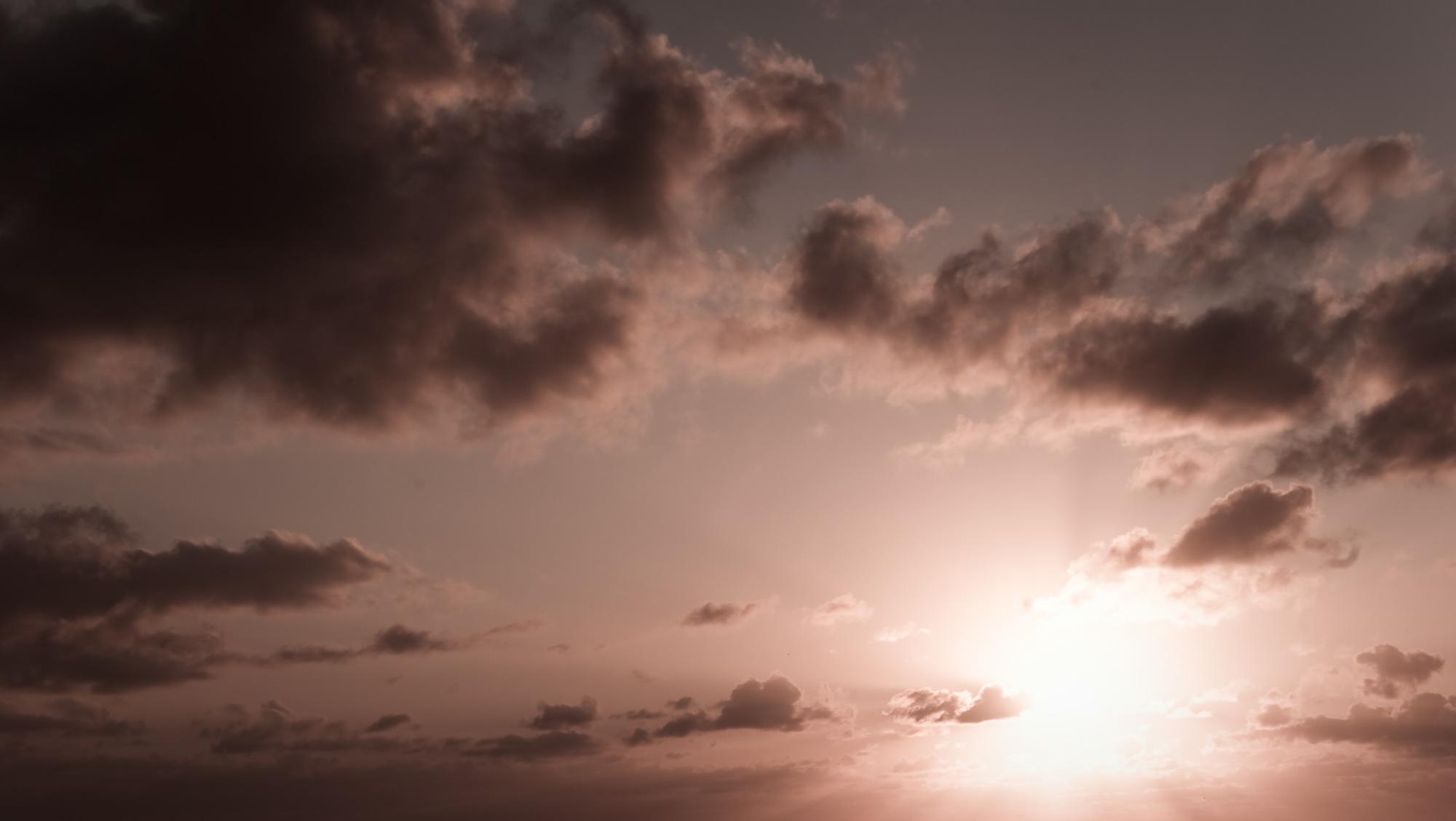 Beautiful Sky, Beautiful, Red, Sunset, Sunrise, HQ Photo