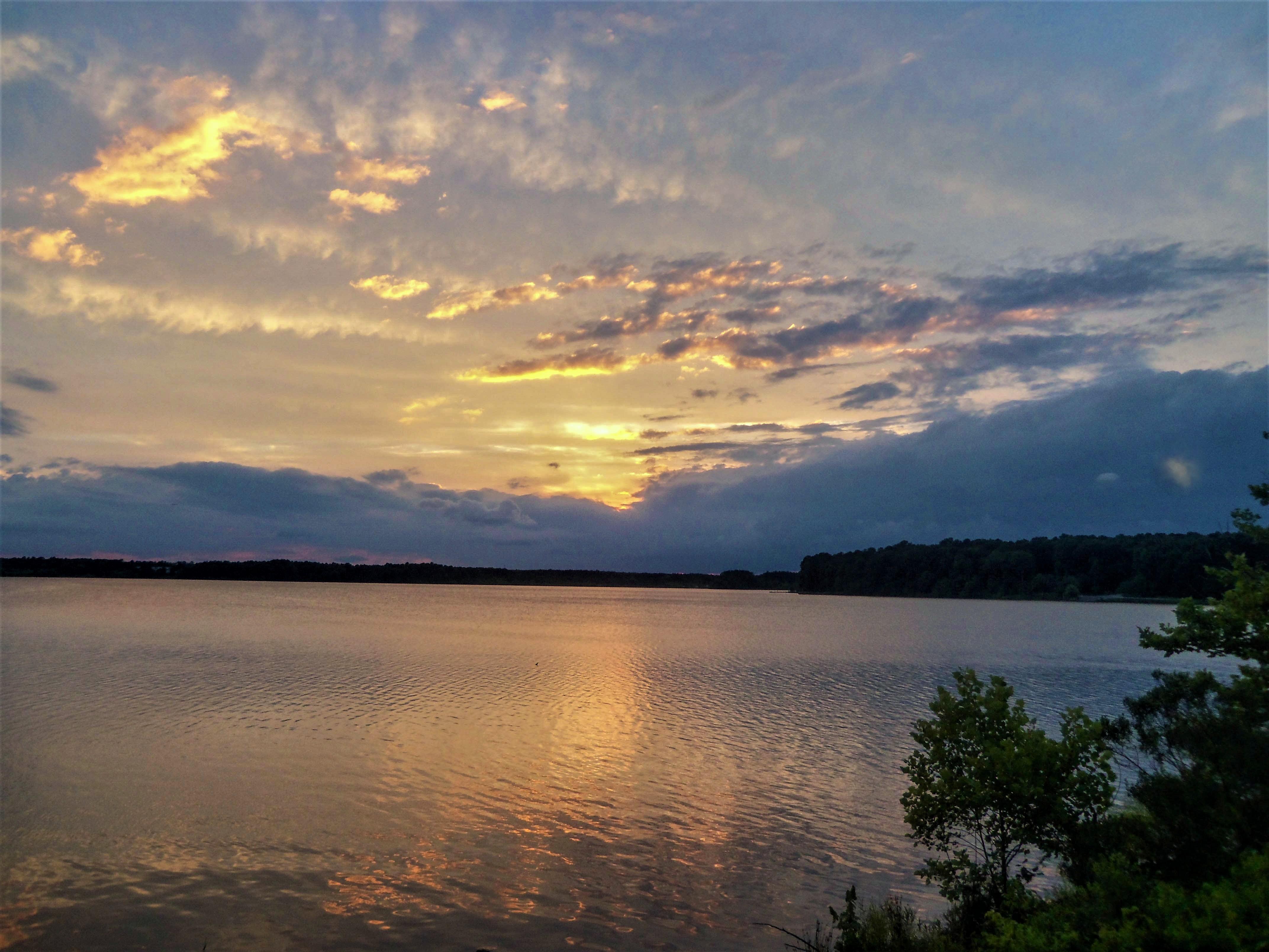 Beautiful sky in North Carolina