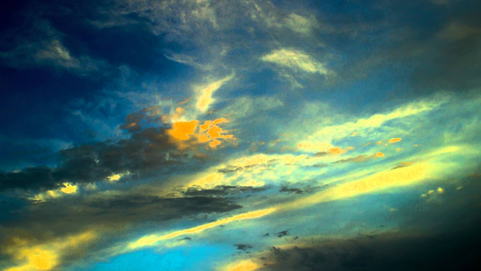 Beautiful clouds in the sky. Time lapse Video 4k. - YouTube