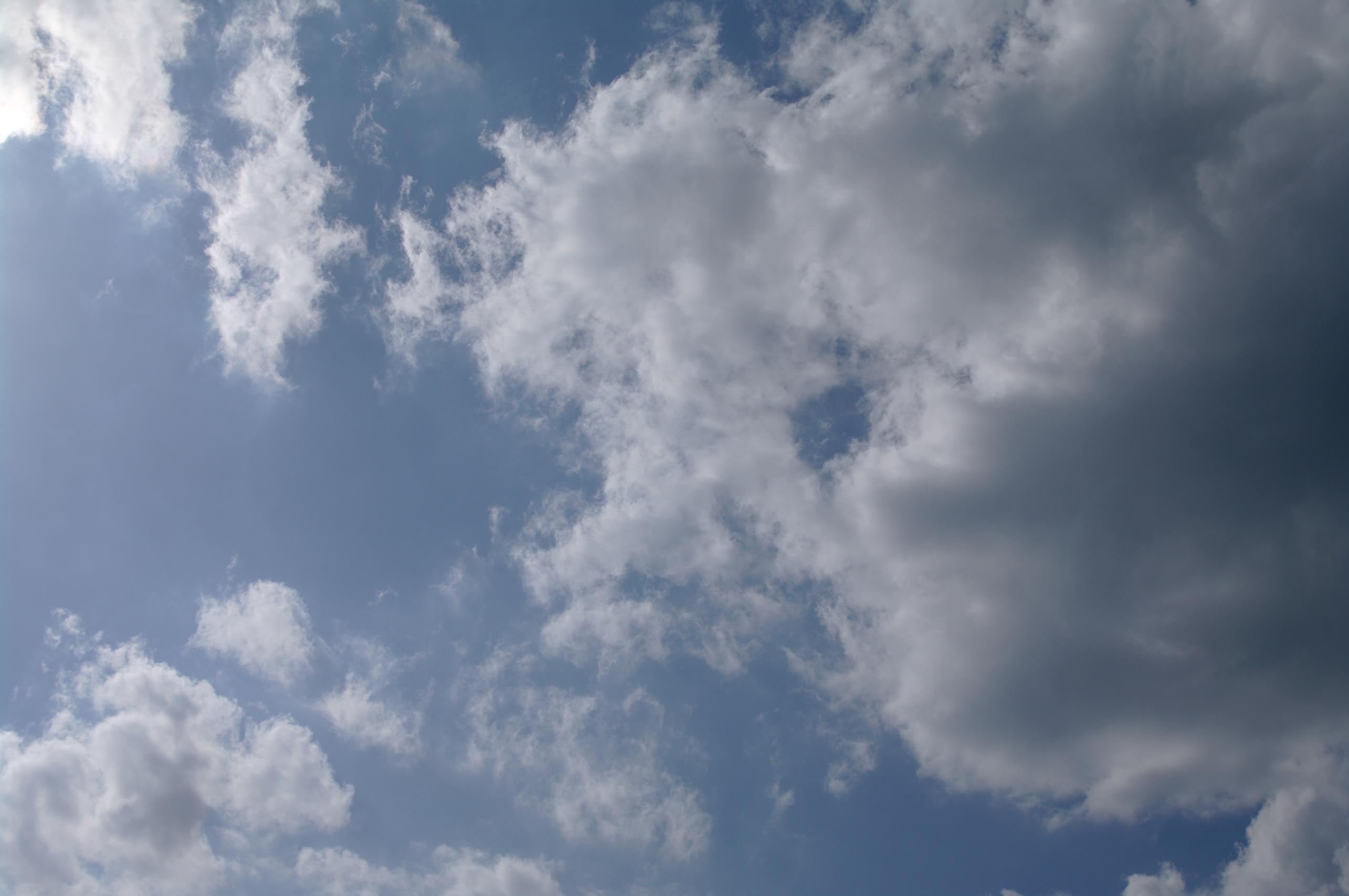 Beautiful sky, Beautiful, Blue, Ciel, Clouds, HQ Photo