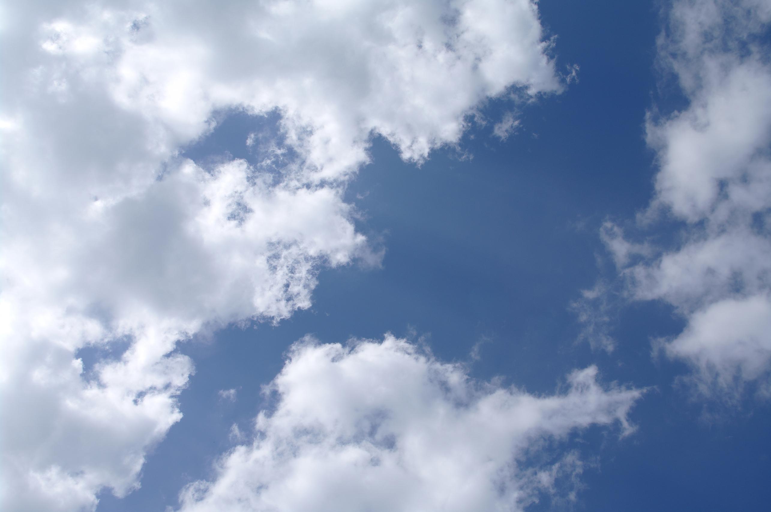 Beautiful sky, Skies, Sky, Puffy, White, HQ Photo