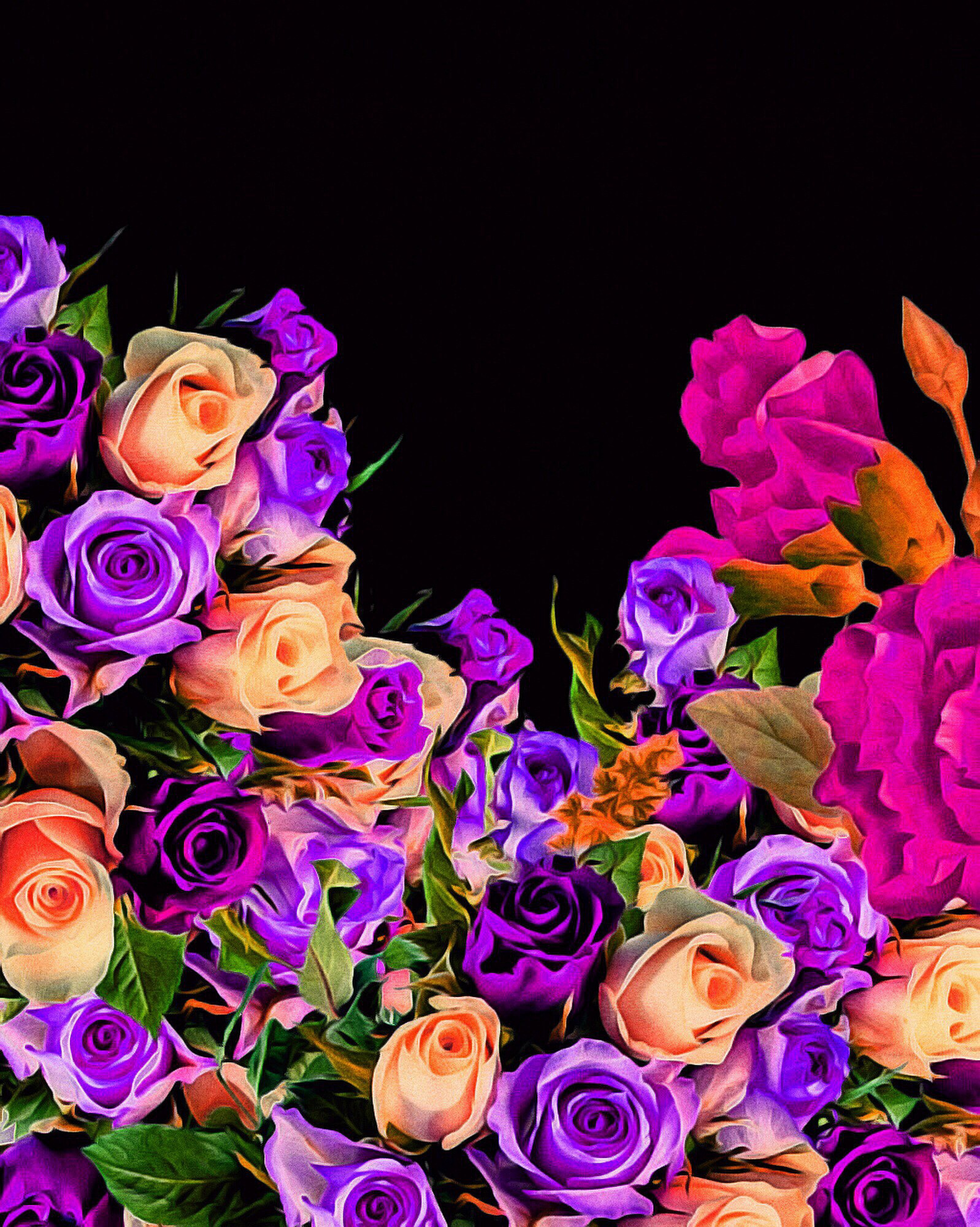 Beautiful Vibrant Floral Design, Bouquet, Bright, Flower, Plant, HQ Photo