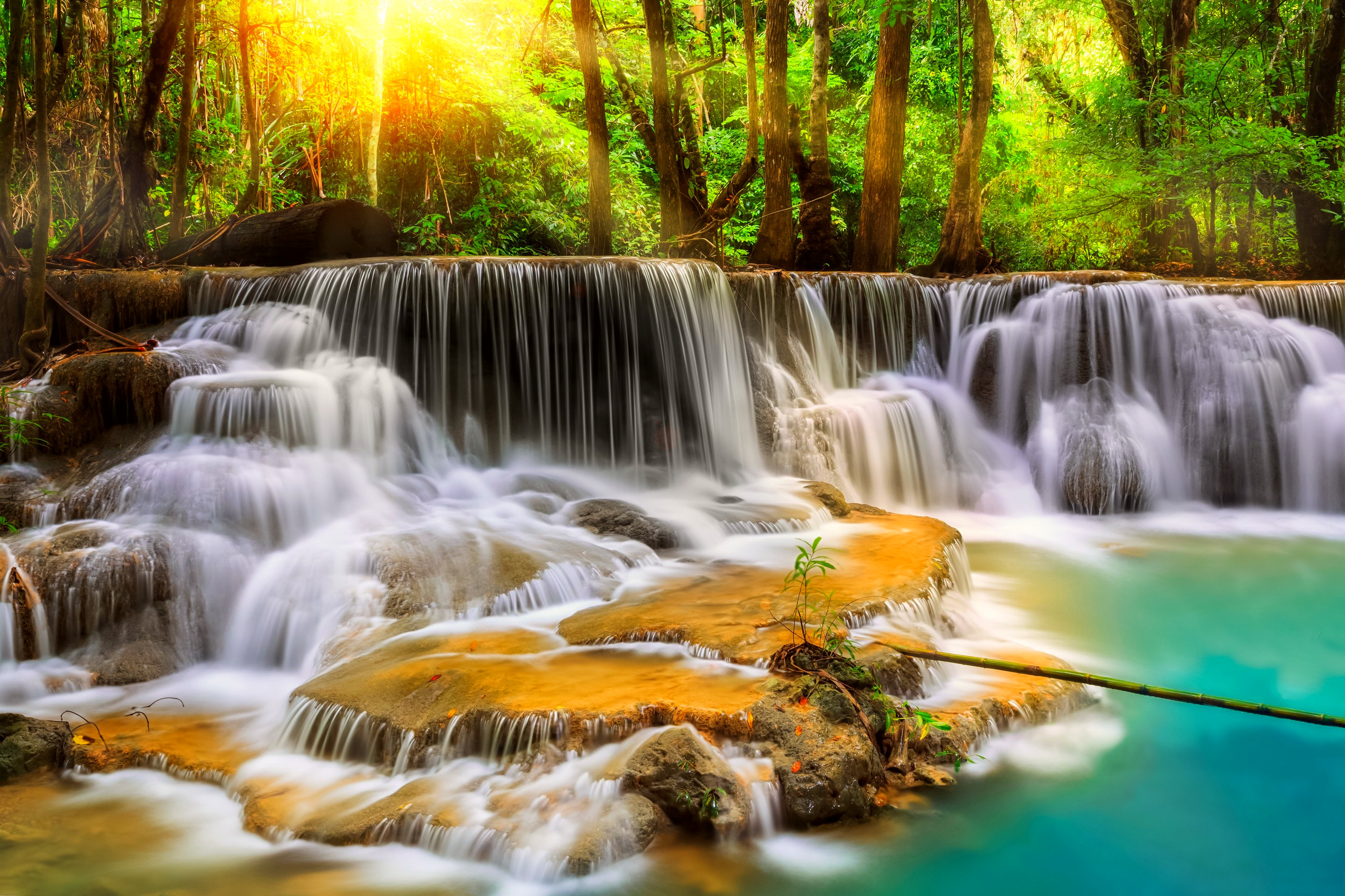 Beautiful Waterfalls Wallpapers Deskto HD Wallpaper, Background Images
