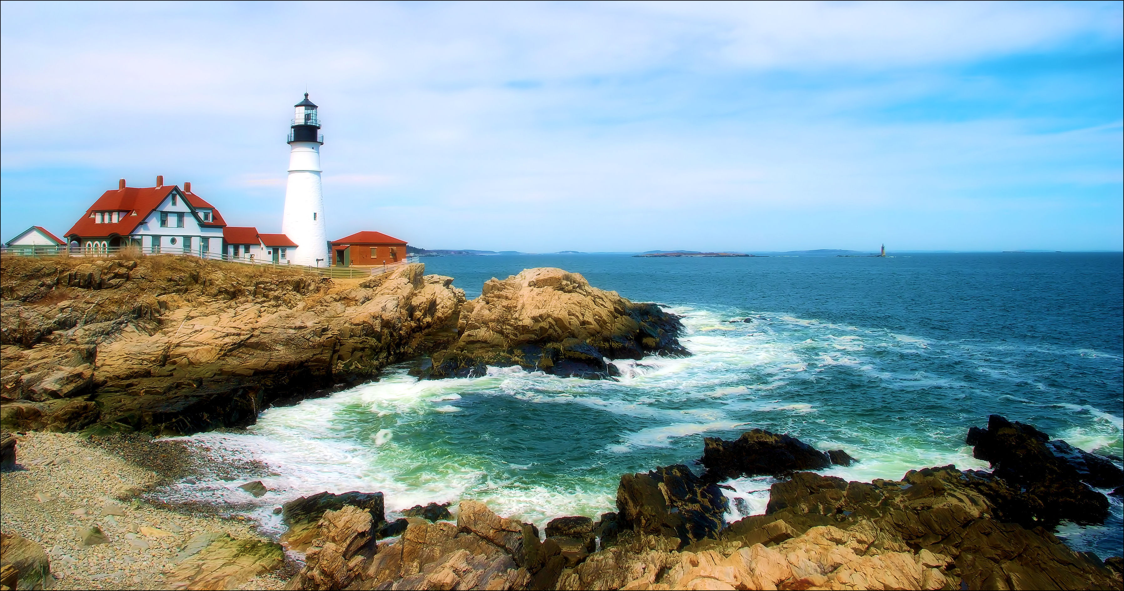 Free photo: Beauty of Maine - Portland, Sea, Seascape - Free
