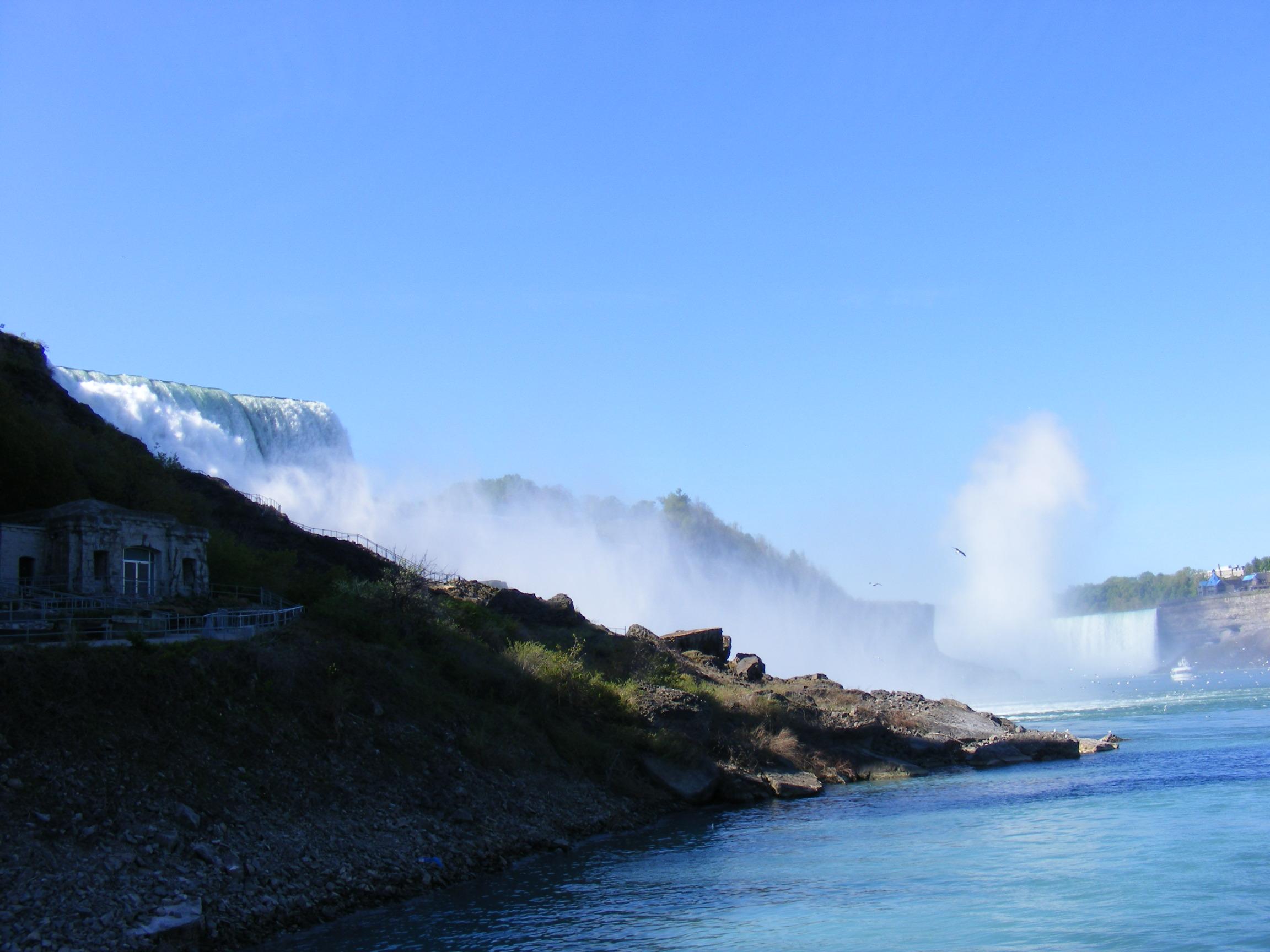 Beauty of Niagara Falls, Rushing, Niagara, Park, Plants, HQ Photo