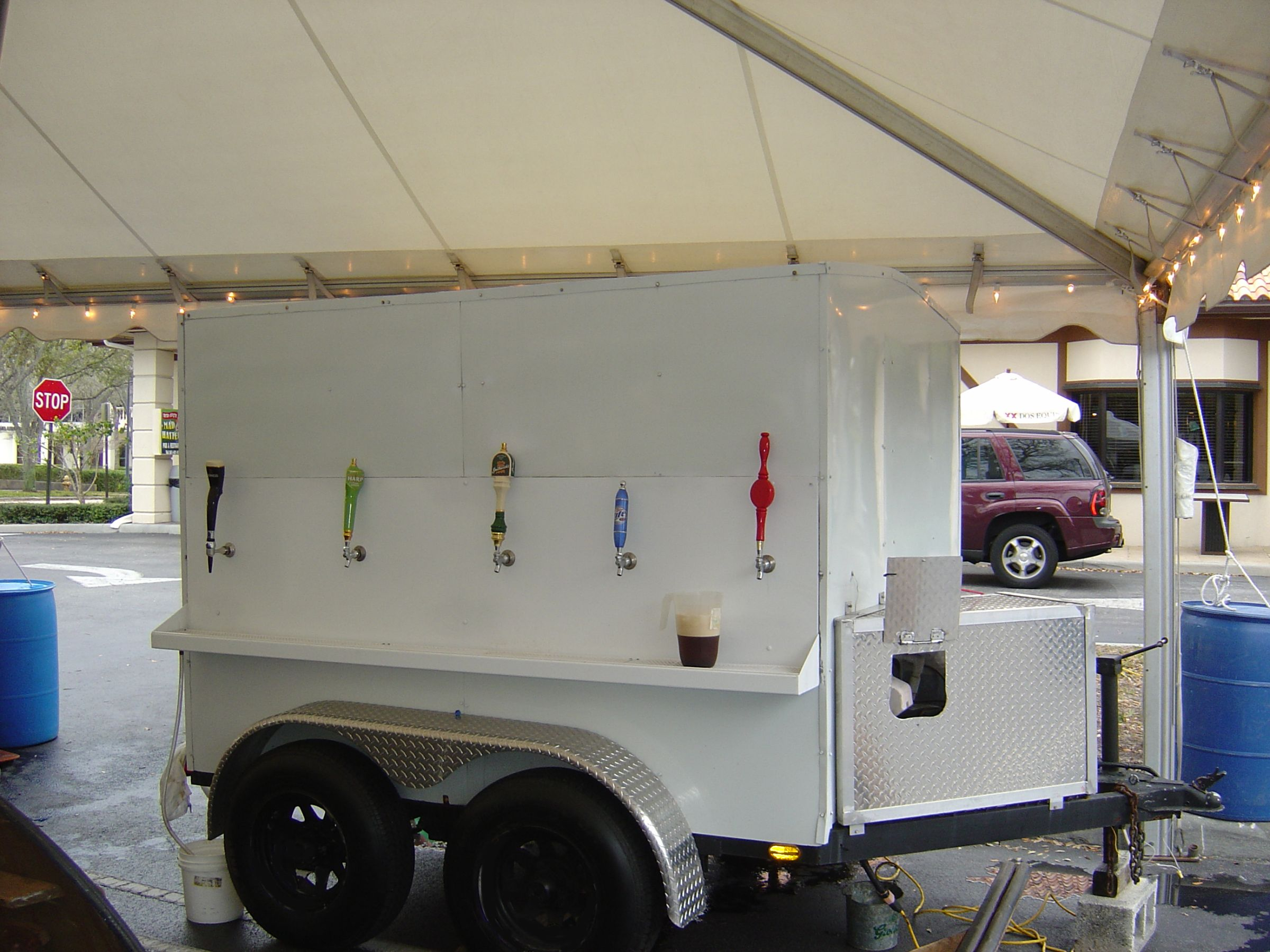 Refrigerated Beer Trailer - Clowns Unlimited