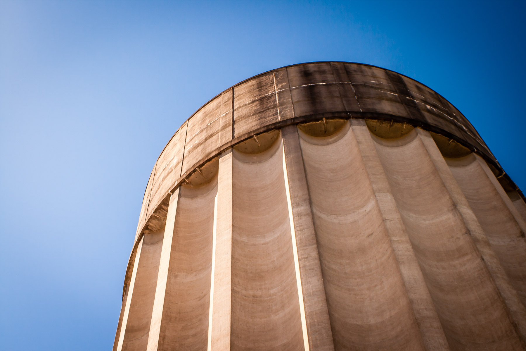 Concrete Water Tower | Tyler | 75CentralPhotography