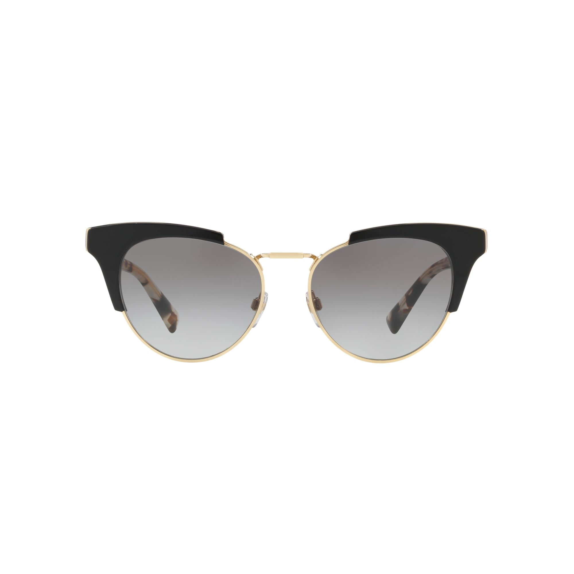 Valentino Metal Bridge Cateye Sunglasses in Black VA4026 500111 53