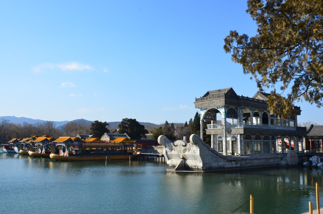 Beijing Summer Palace, Beijing, Boats, China, Palace, HQ Photo