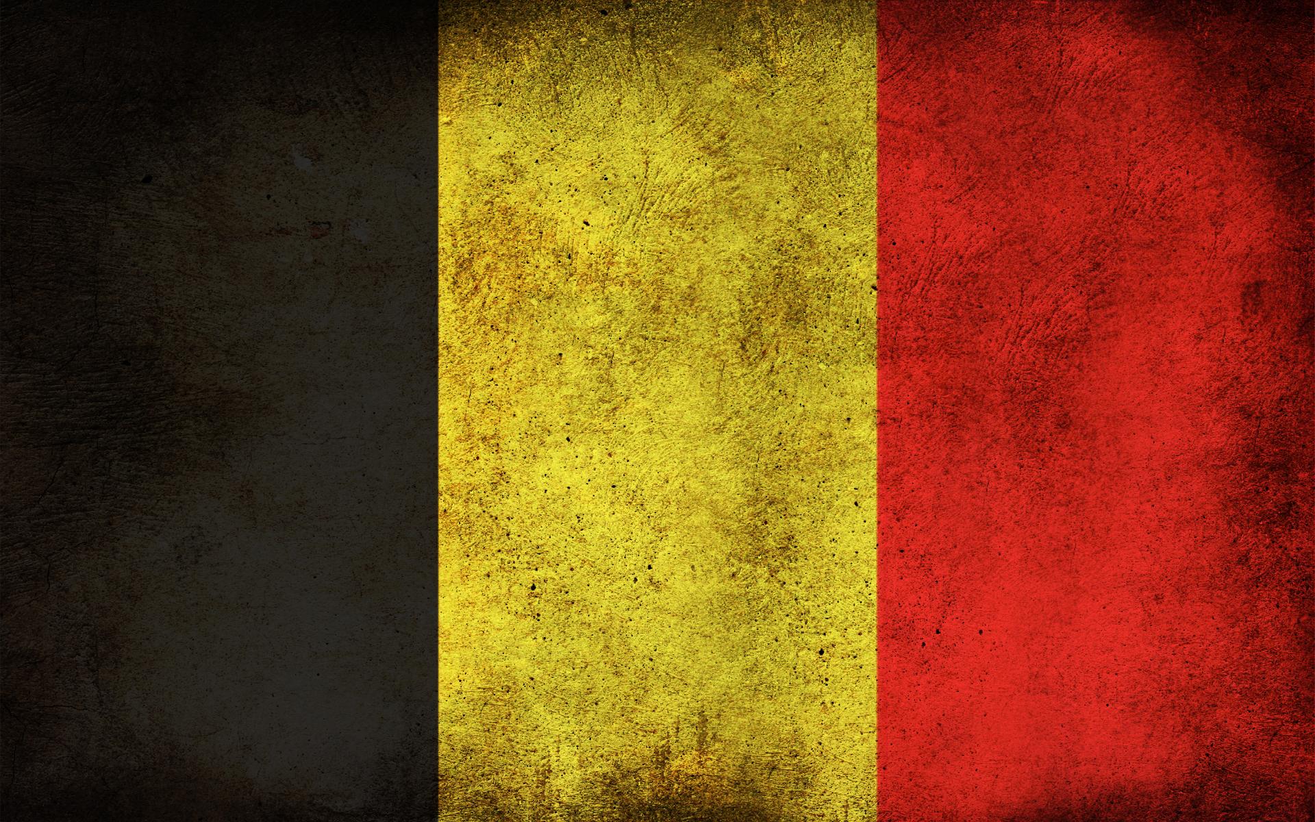 Belgium grunge flag photo