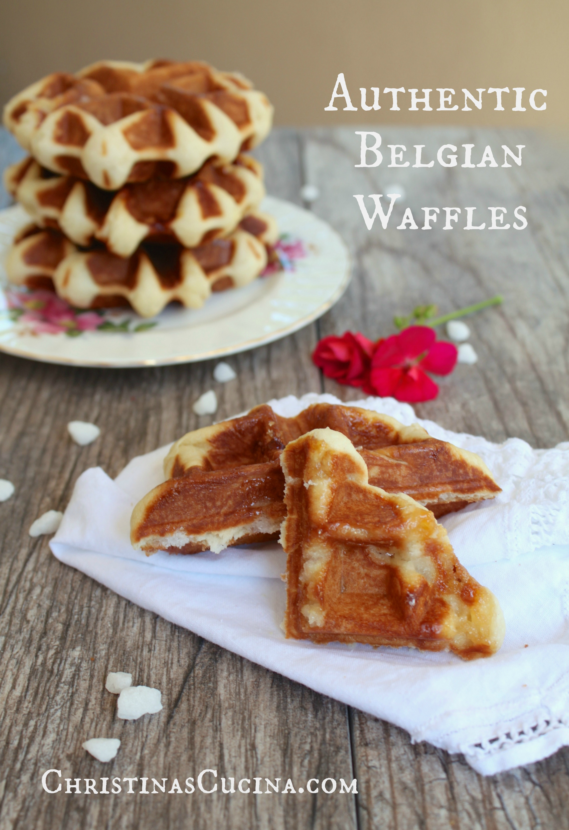 A Super Lekker, Authentic (Traditional) Belgian Waffle Recipe and a ...
