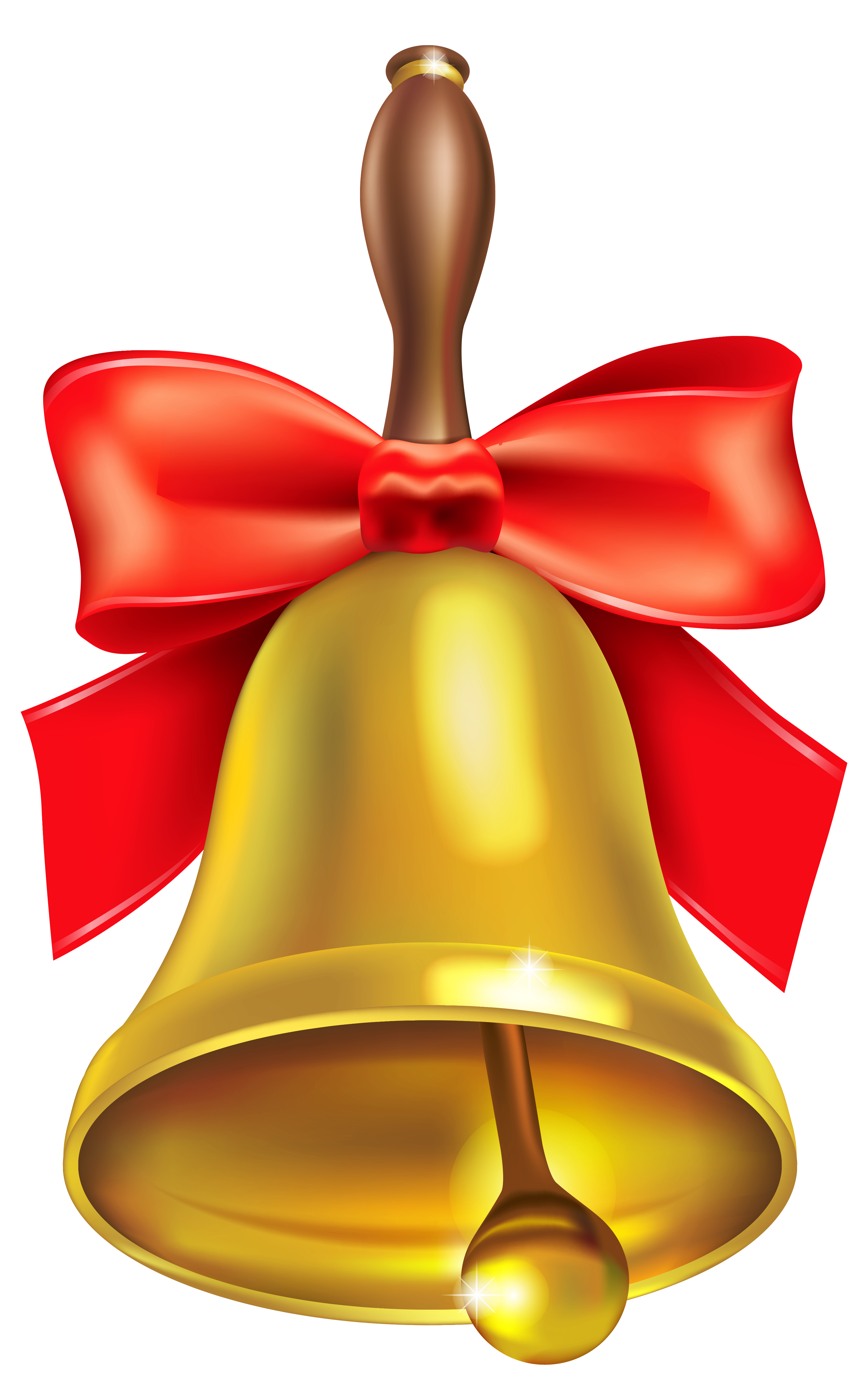 Gold School Bell PNG Clipart Picture | Gallery Yopriceville - High ...