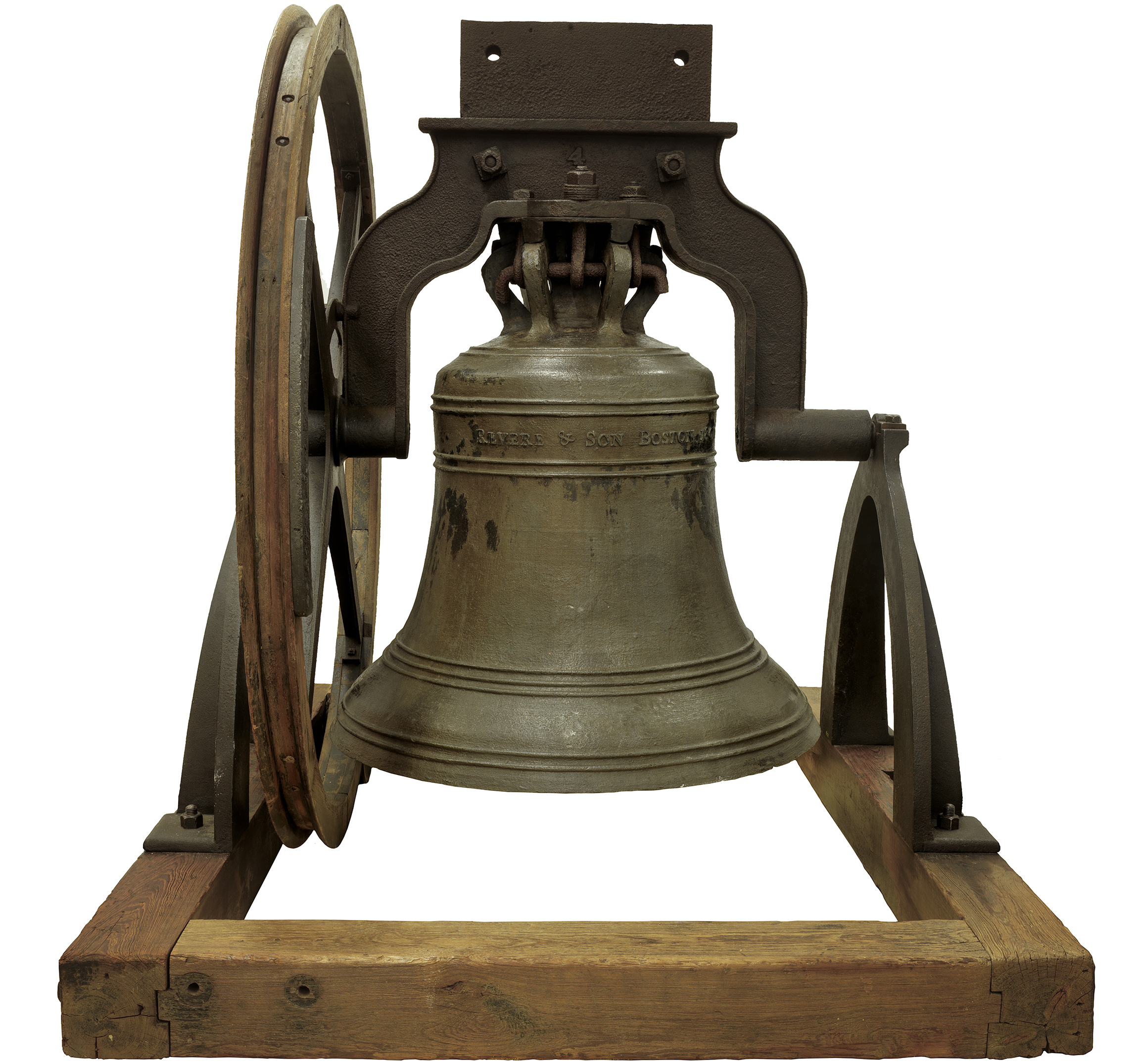 Paul Revere's church bell from