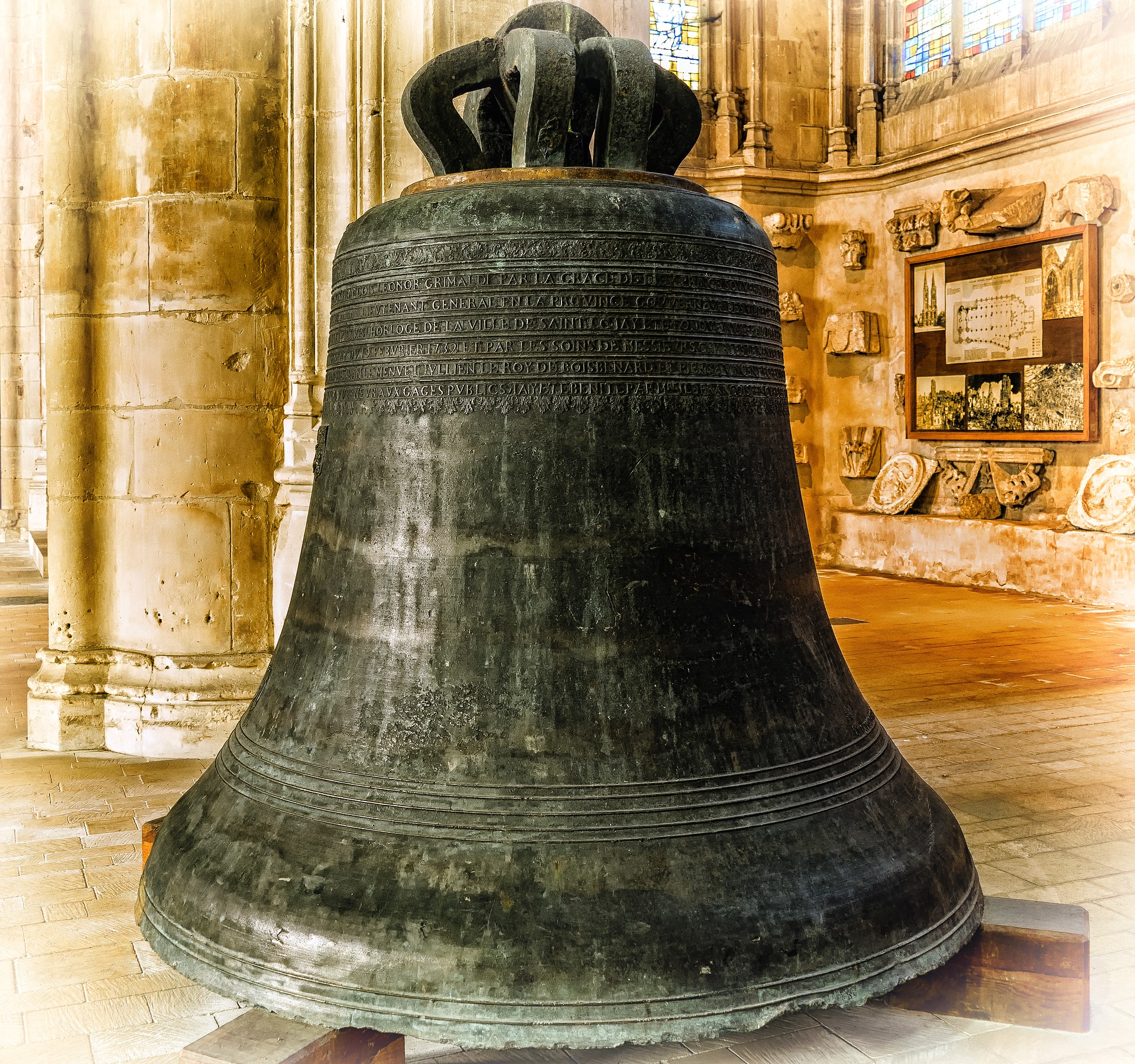 Bell in the church photo