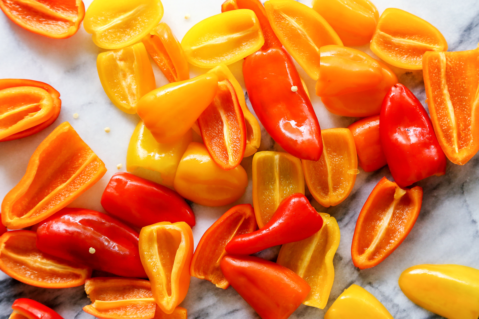Grilled Mini Sweet Peppers with Goat Cheese | The Pioneer Woman