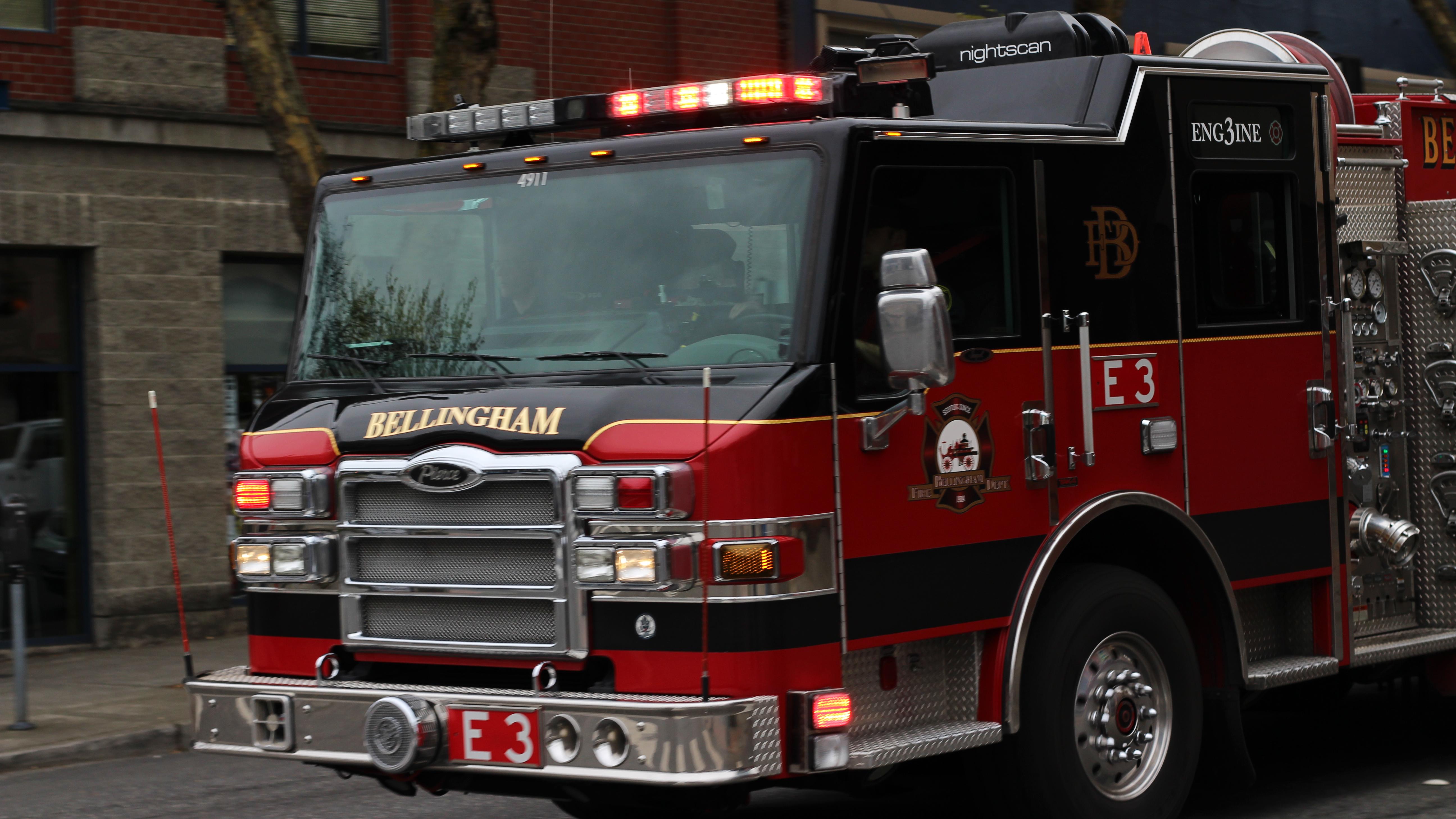 Bellingham fire dept: engine 3 photo