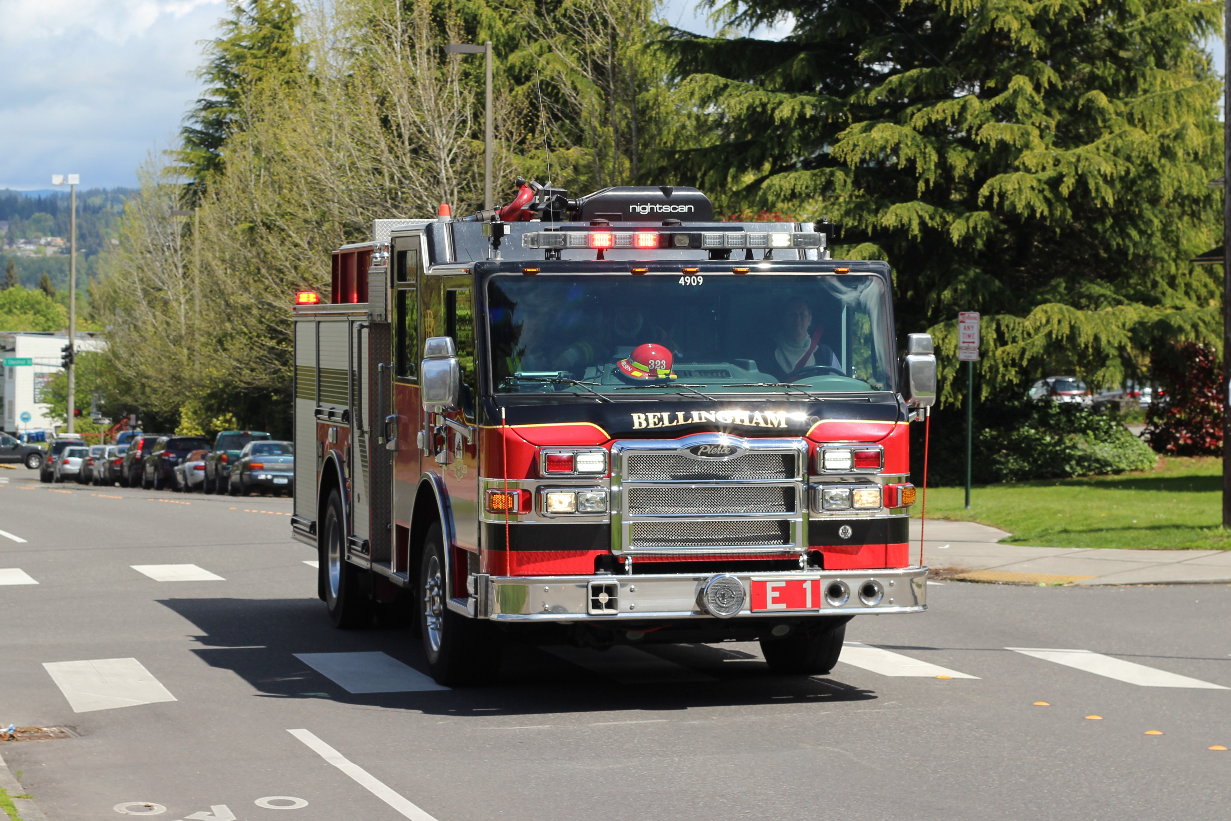 Bellingham fire engine 1 photo
