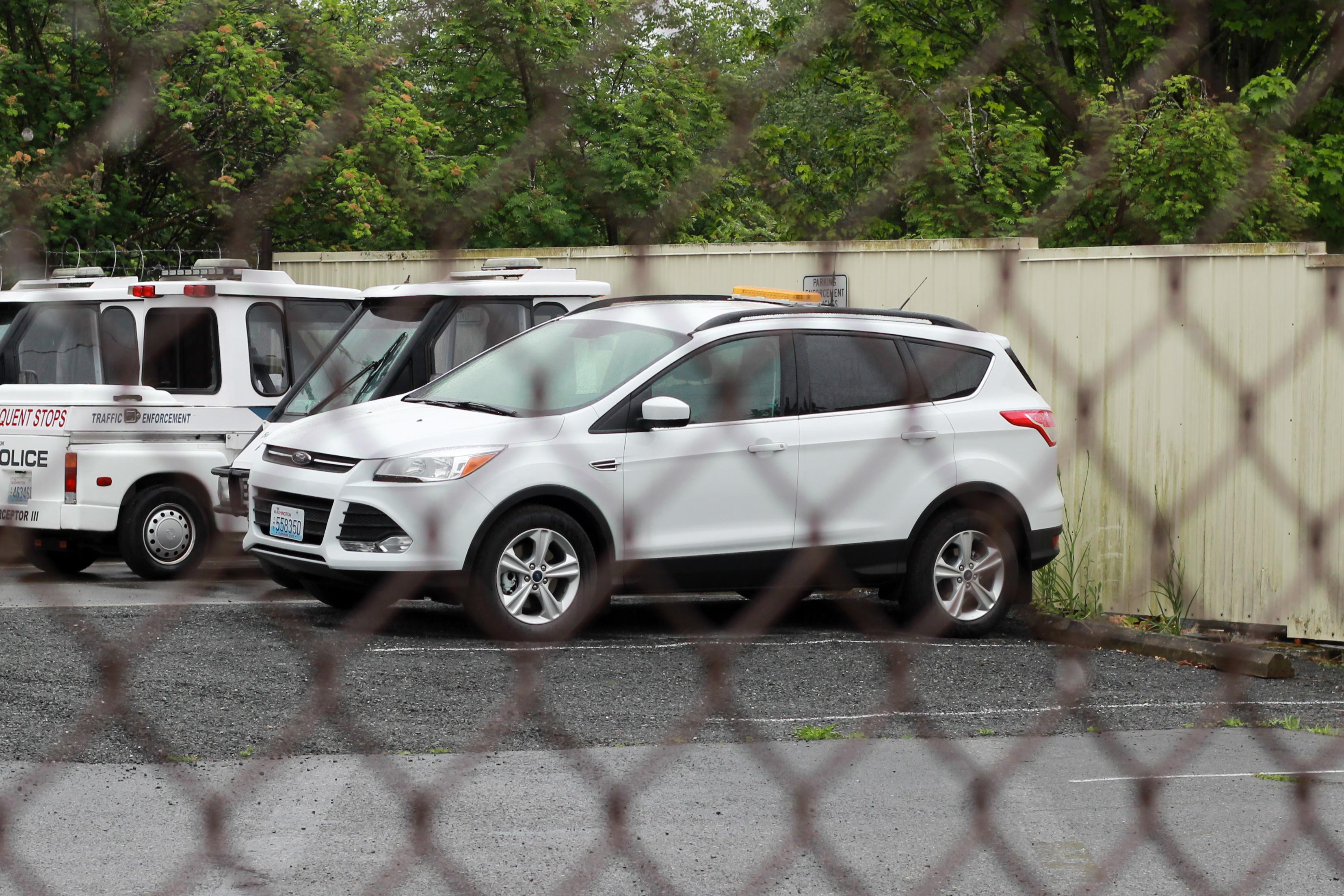 Bellingham police ford escape (parking enforement?) photo