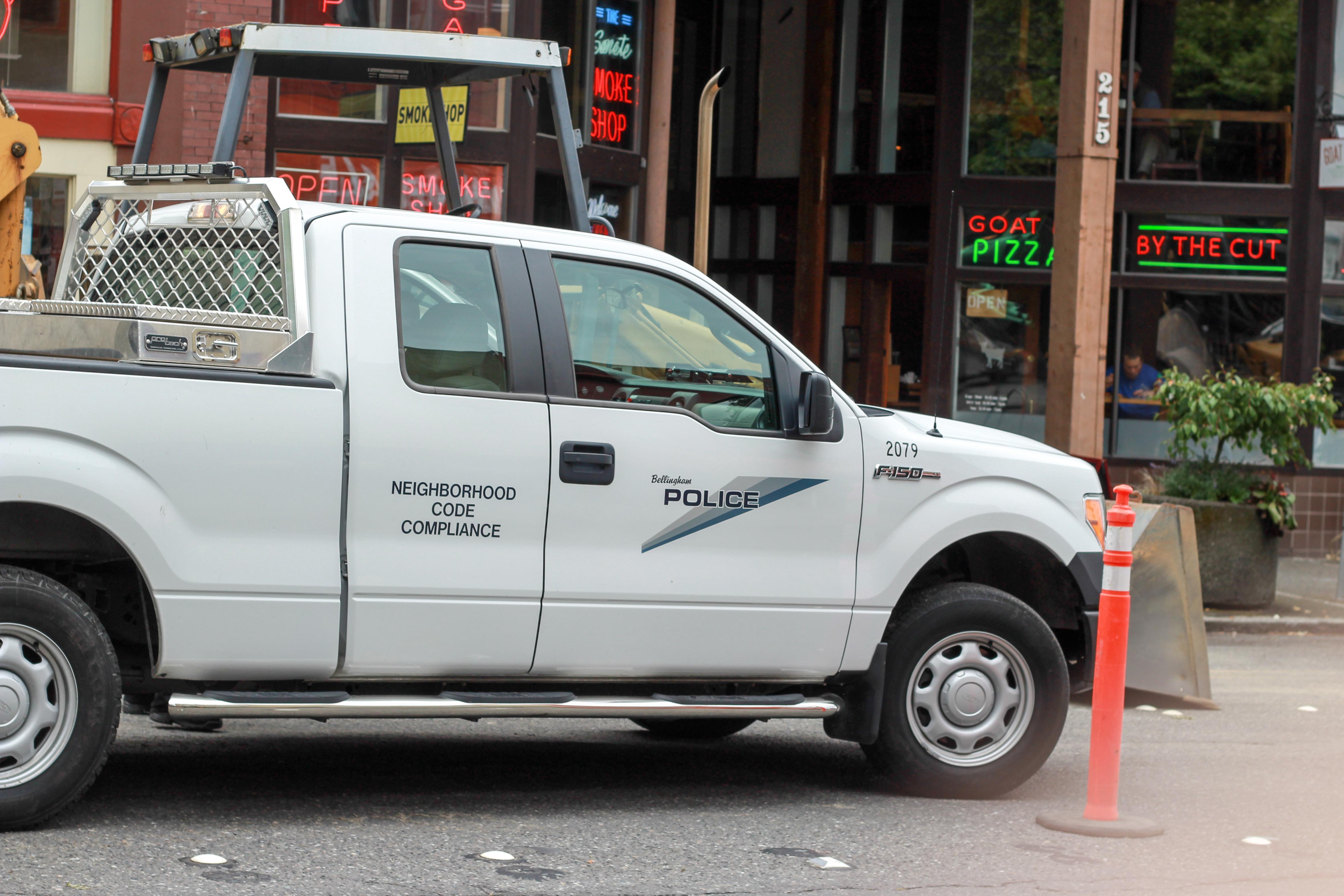 Bellingham police neighborhood code compliance photo