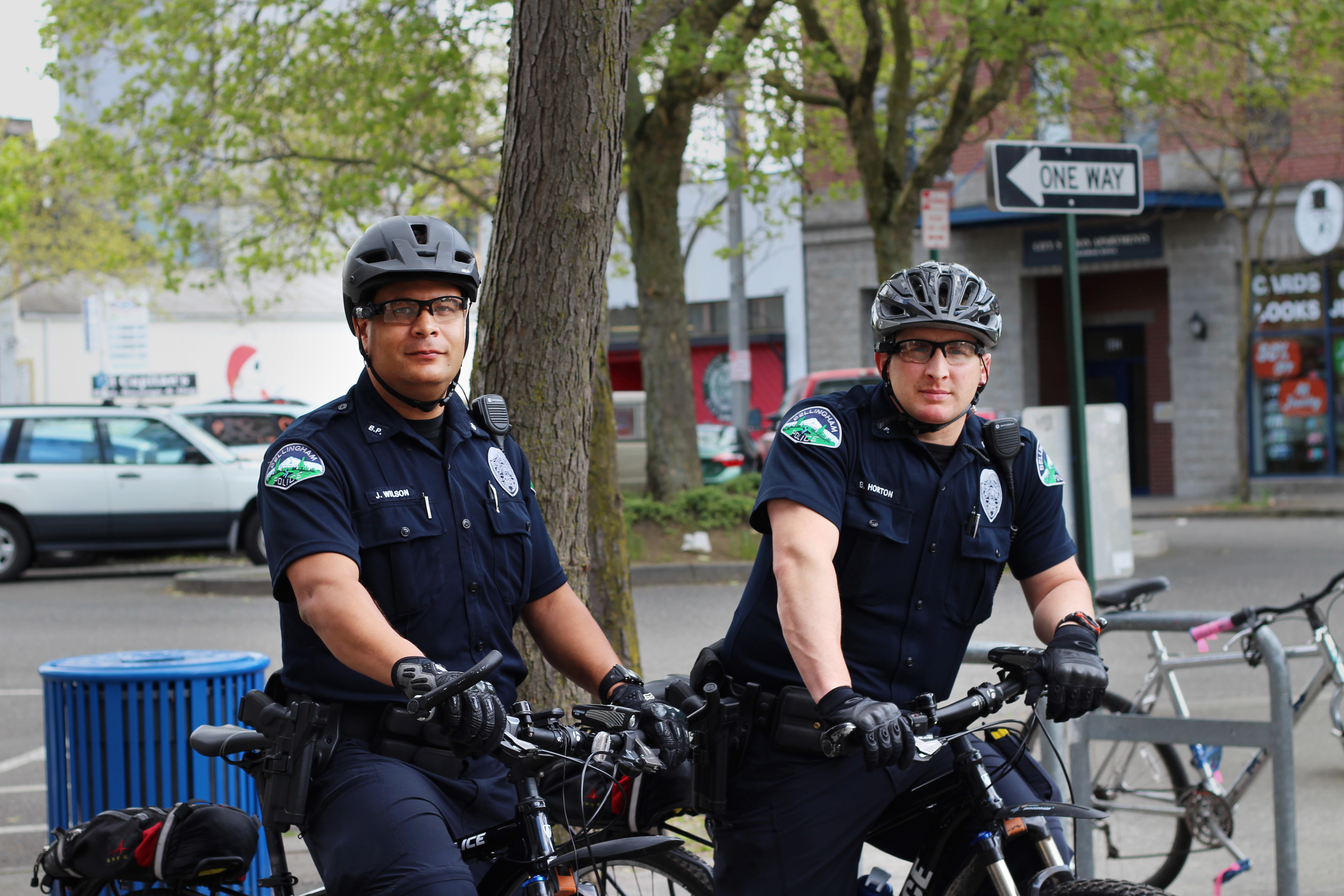 Bellingham, WA Police Bicycle Cops, Bellingham, Bellingham Police, Bellingham Police Car, Bellingham Police Department, HQ Photo