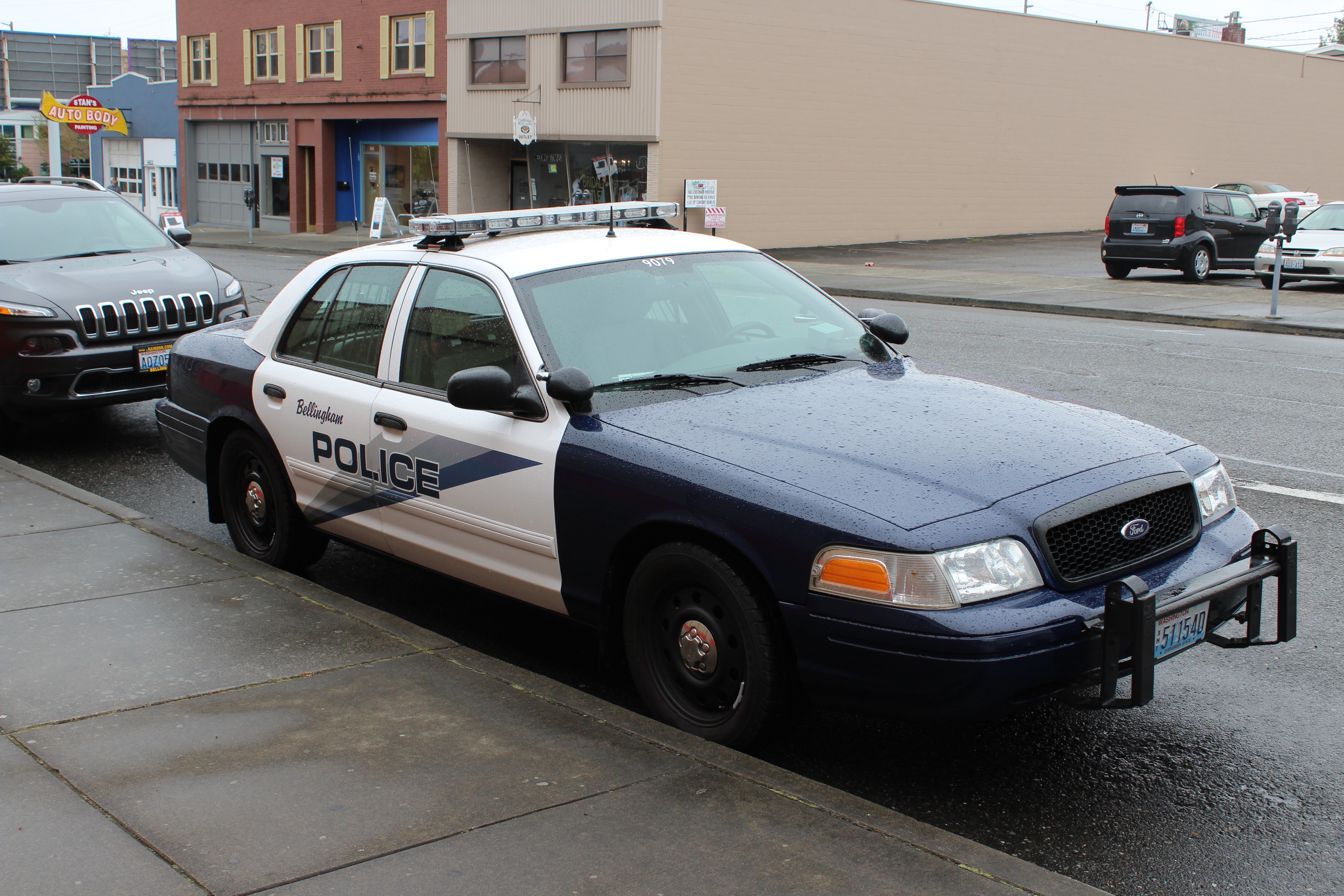 Bellingham, wa police ford crown victoria (9079) photo