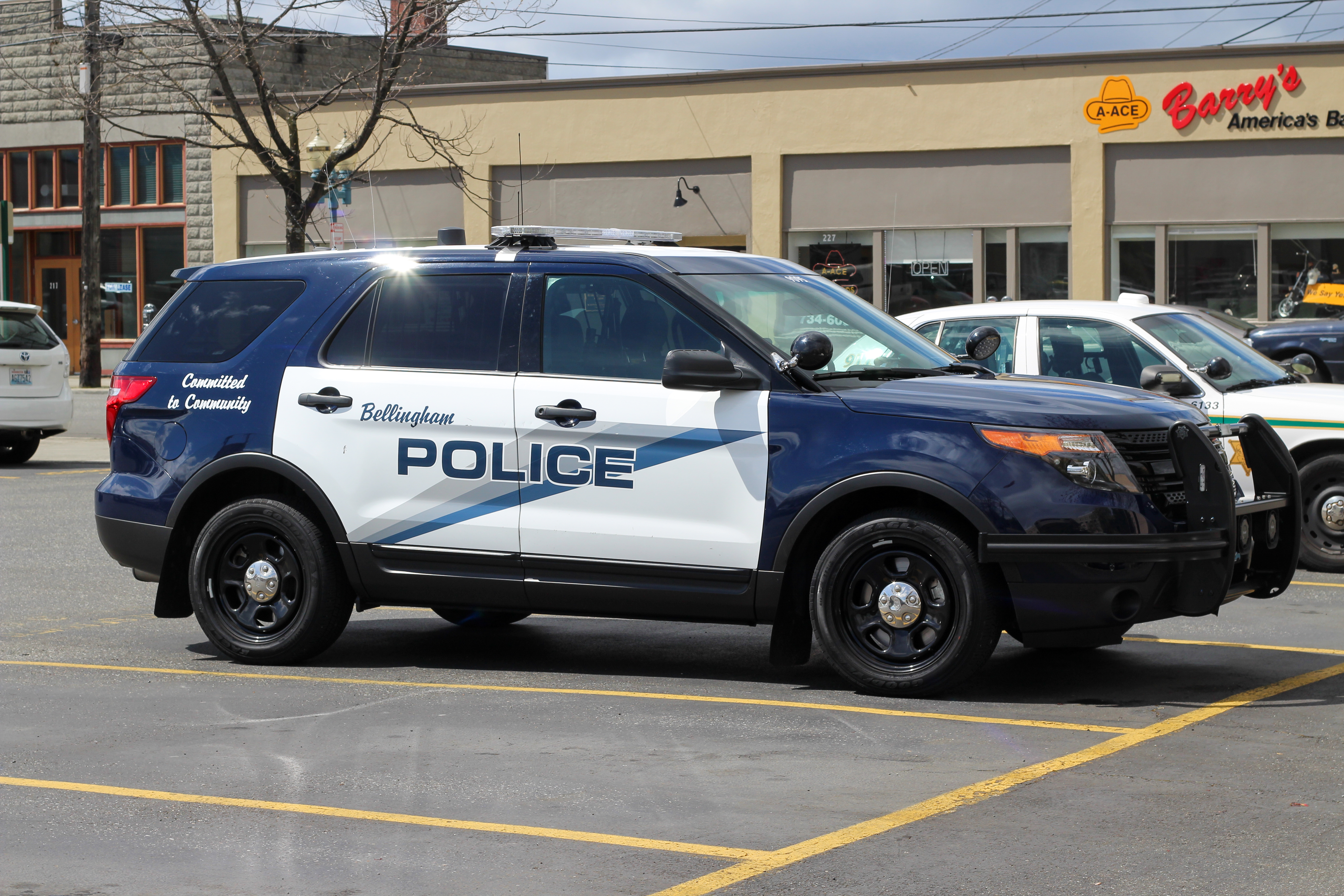 Bellingham, wa police: ford police utility photo