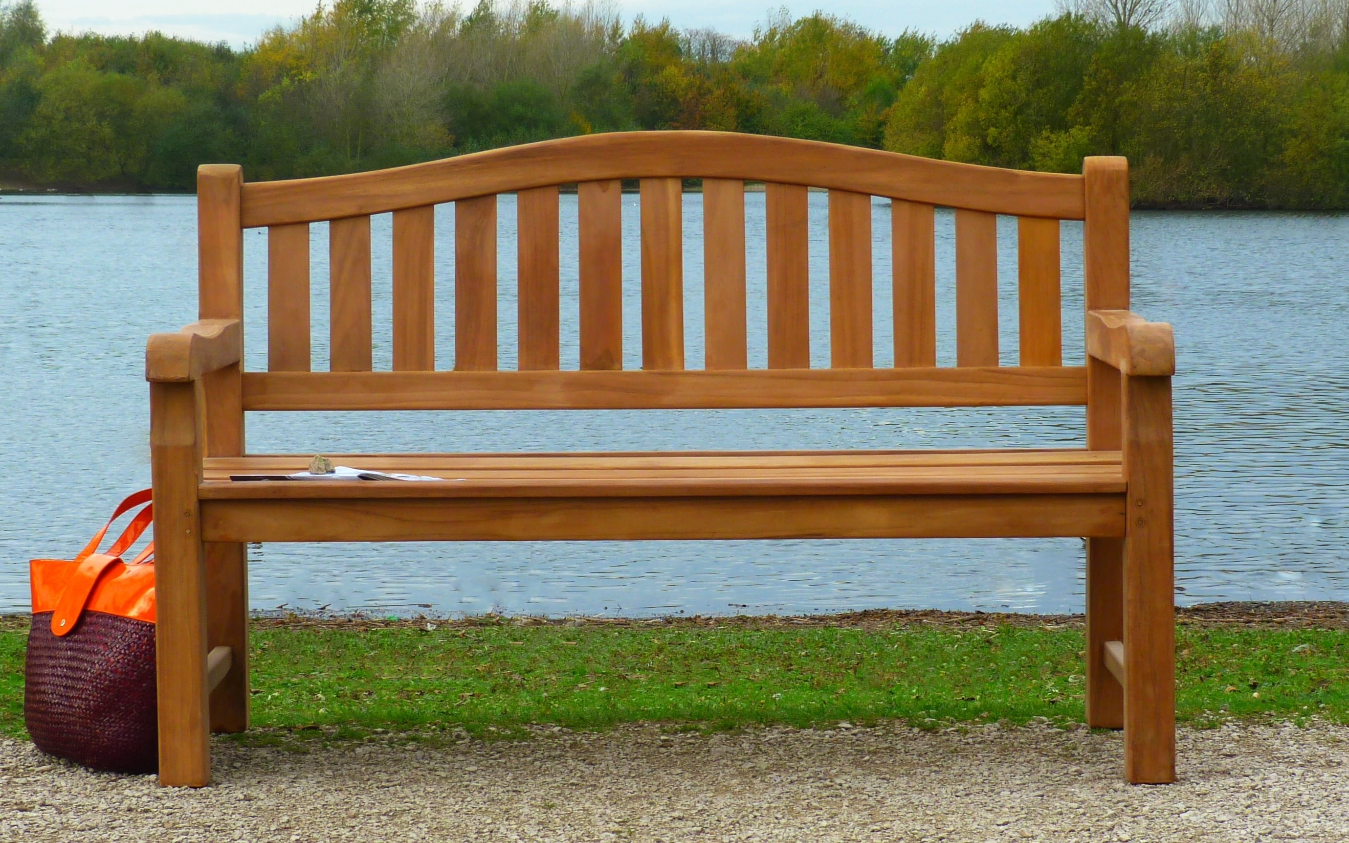 Cambridge Teak Memorial Bench 3 Seater 1.5m | Sloane & Sons