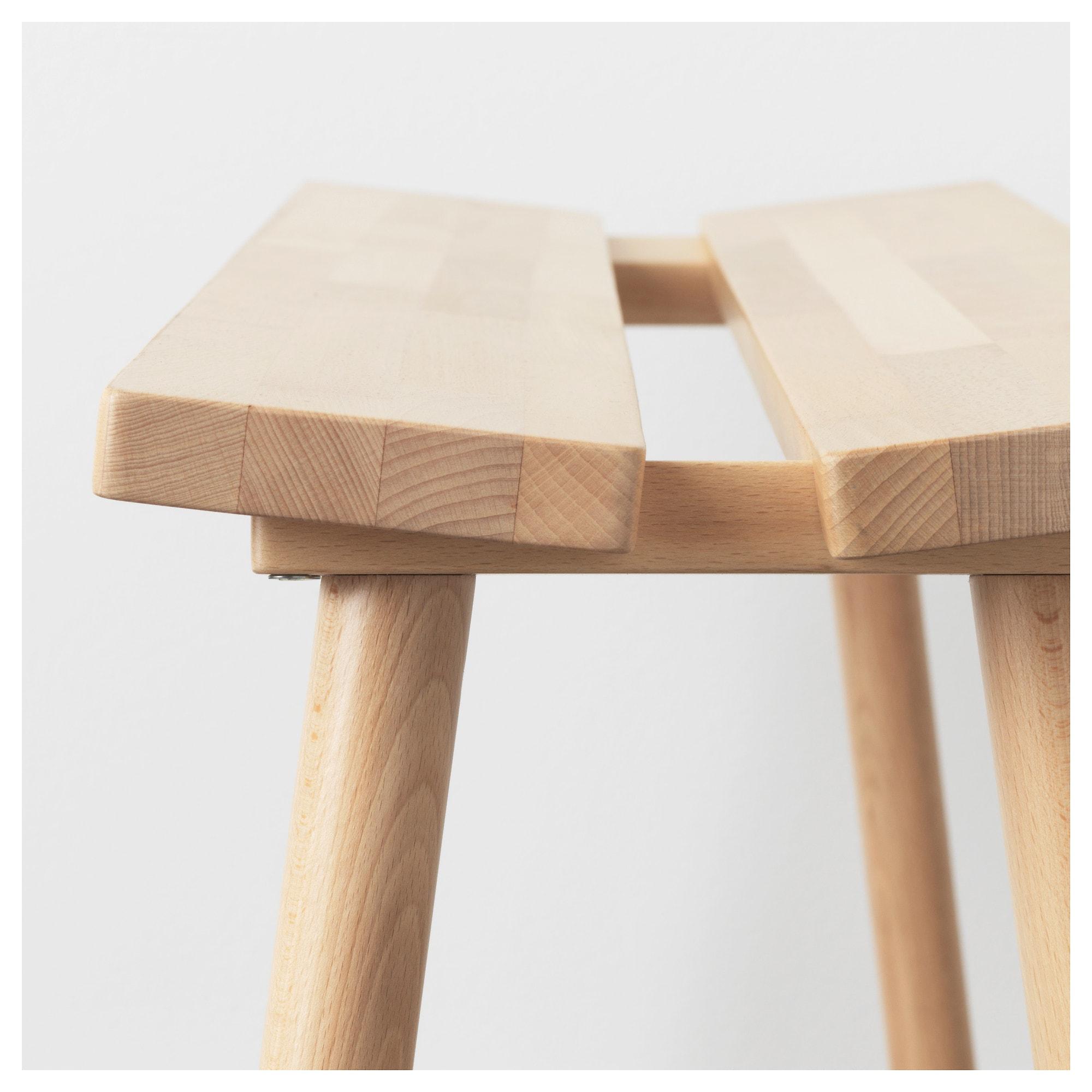 YPPERLIG Bench Beech 100 cm - IKEA