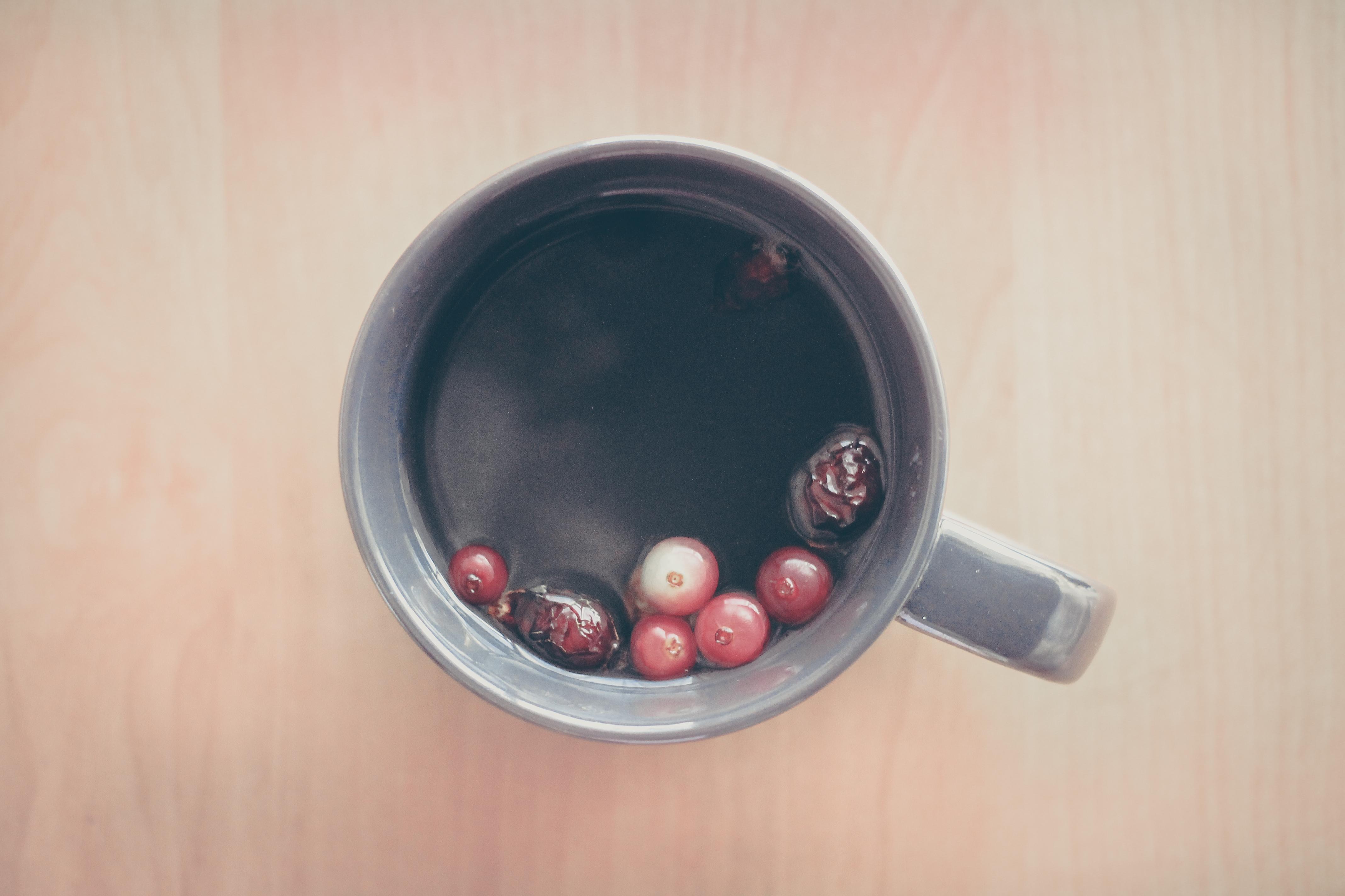 Berries, Object, Mug, Fruit, Food, HQ Photo