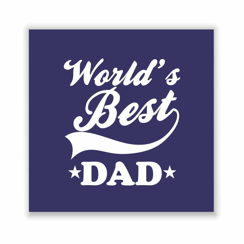 Engraved World's Best Dad Beer Mug | Giftsmate