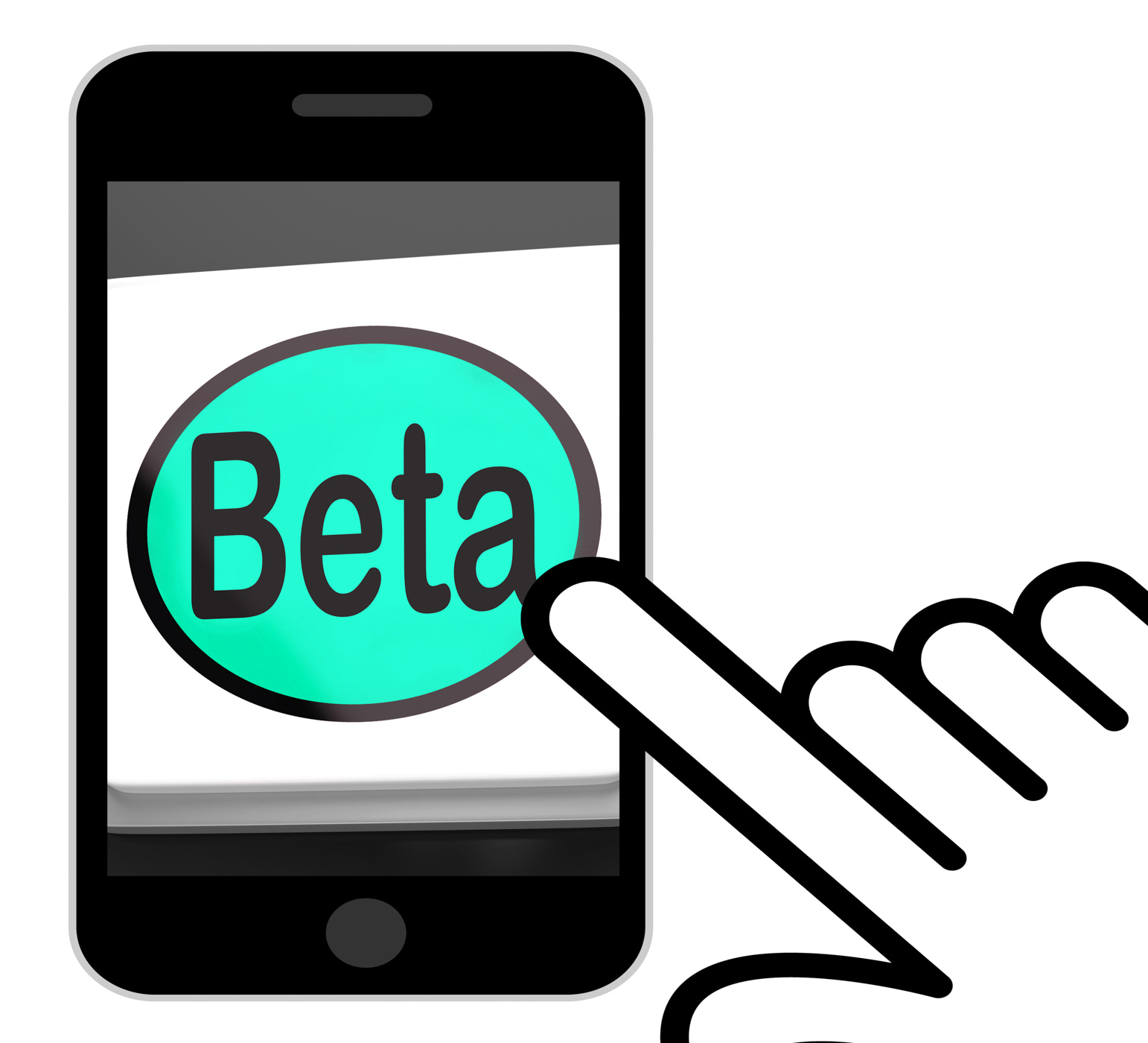 Beta Button Displays Development Or Demo Version, Beta, Button, Demo, Development, HQ Photo