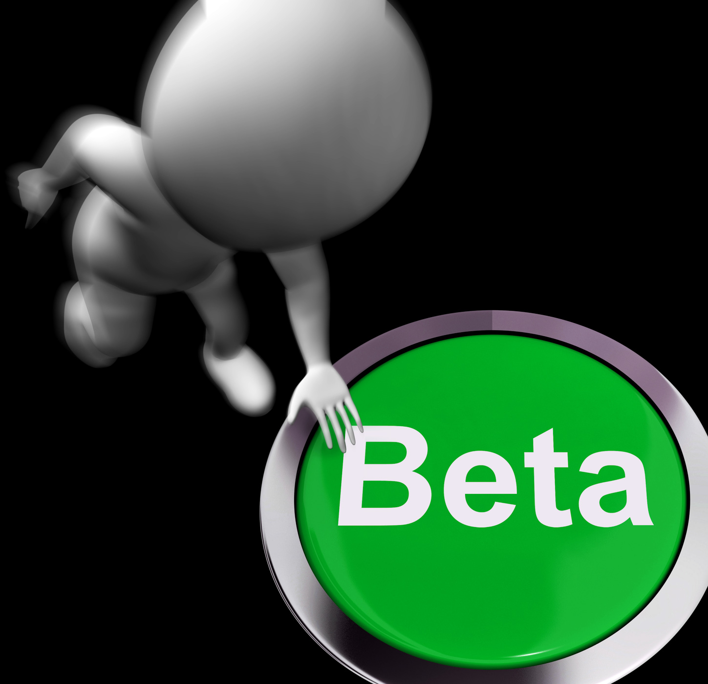 Beta pressed shows software testing and development photo