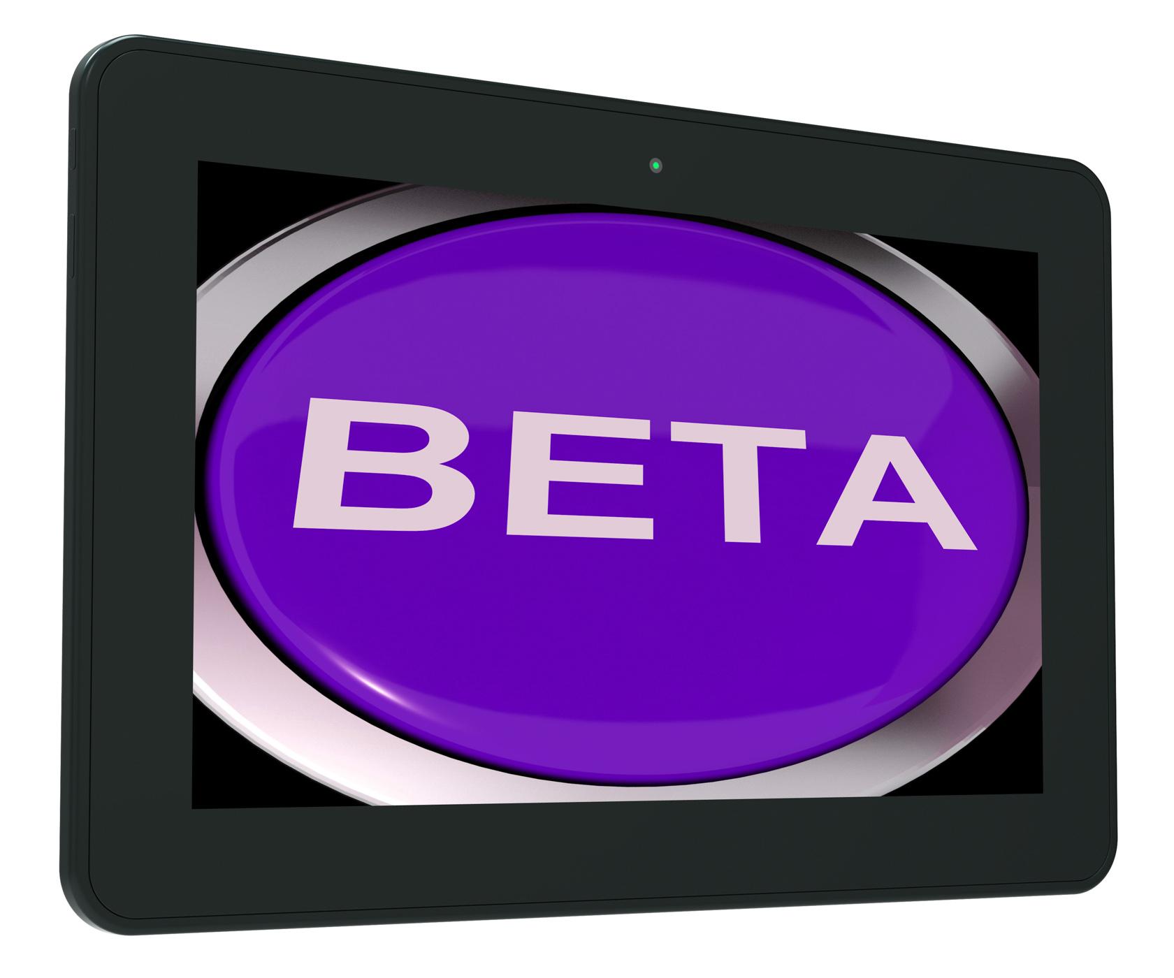 Beta Switch Shows Development Or Demo Version, Beta, Button, Demo, Development, HQ Photo