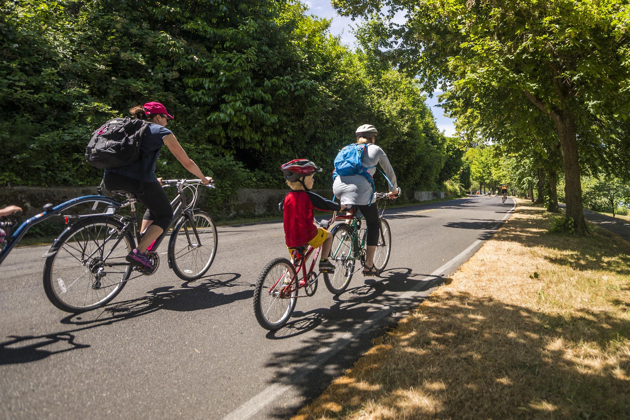 Join us for Bicycle Sundays along Lake Washington Blvd. - Parkways
