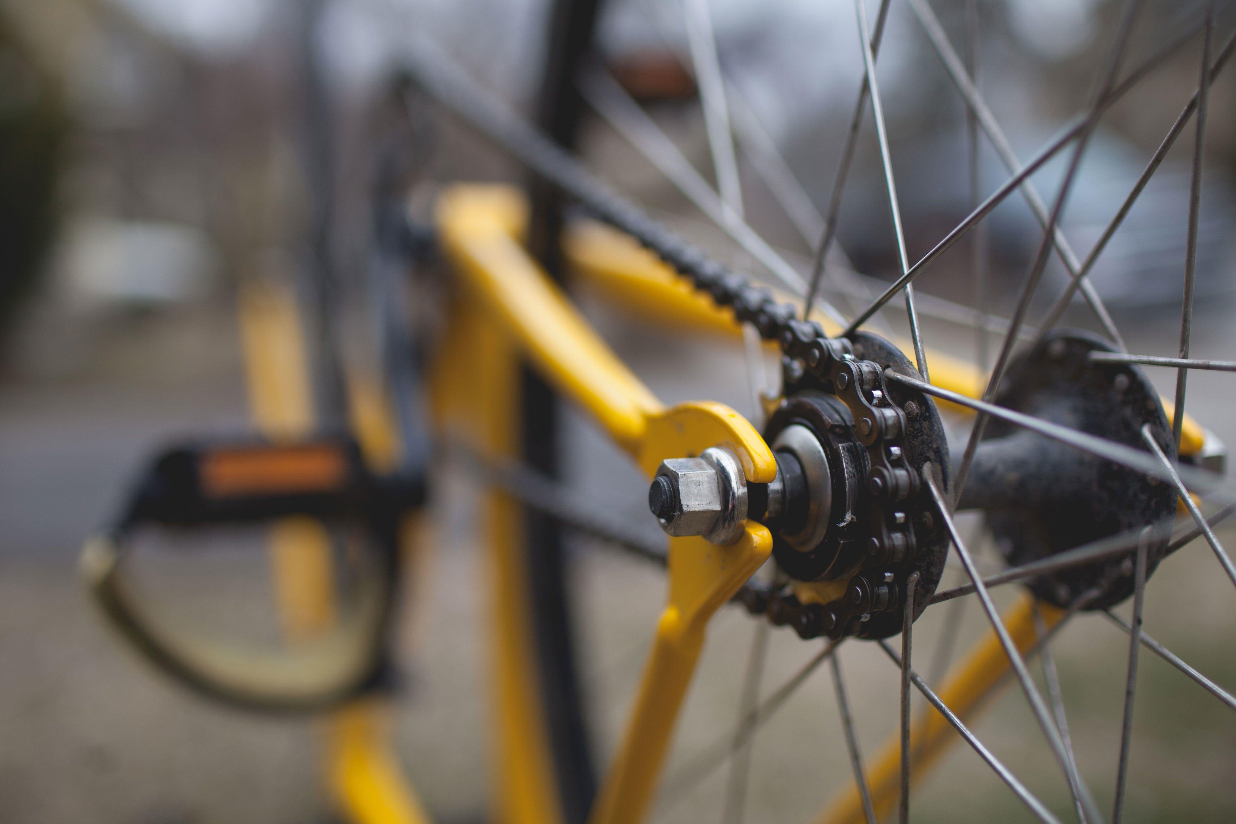 Bicycle, Bike, Chain, Cycle, Metal, HQ Photo