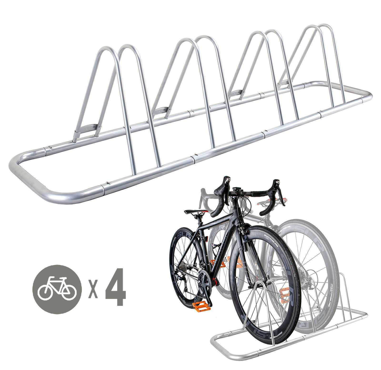 Buy 1 - 4 Bike Floor Parking Rack Storage Stand Bicycle | CD