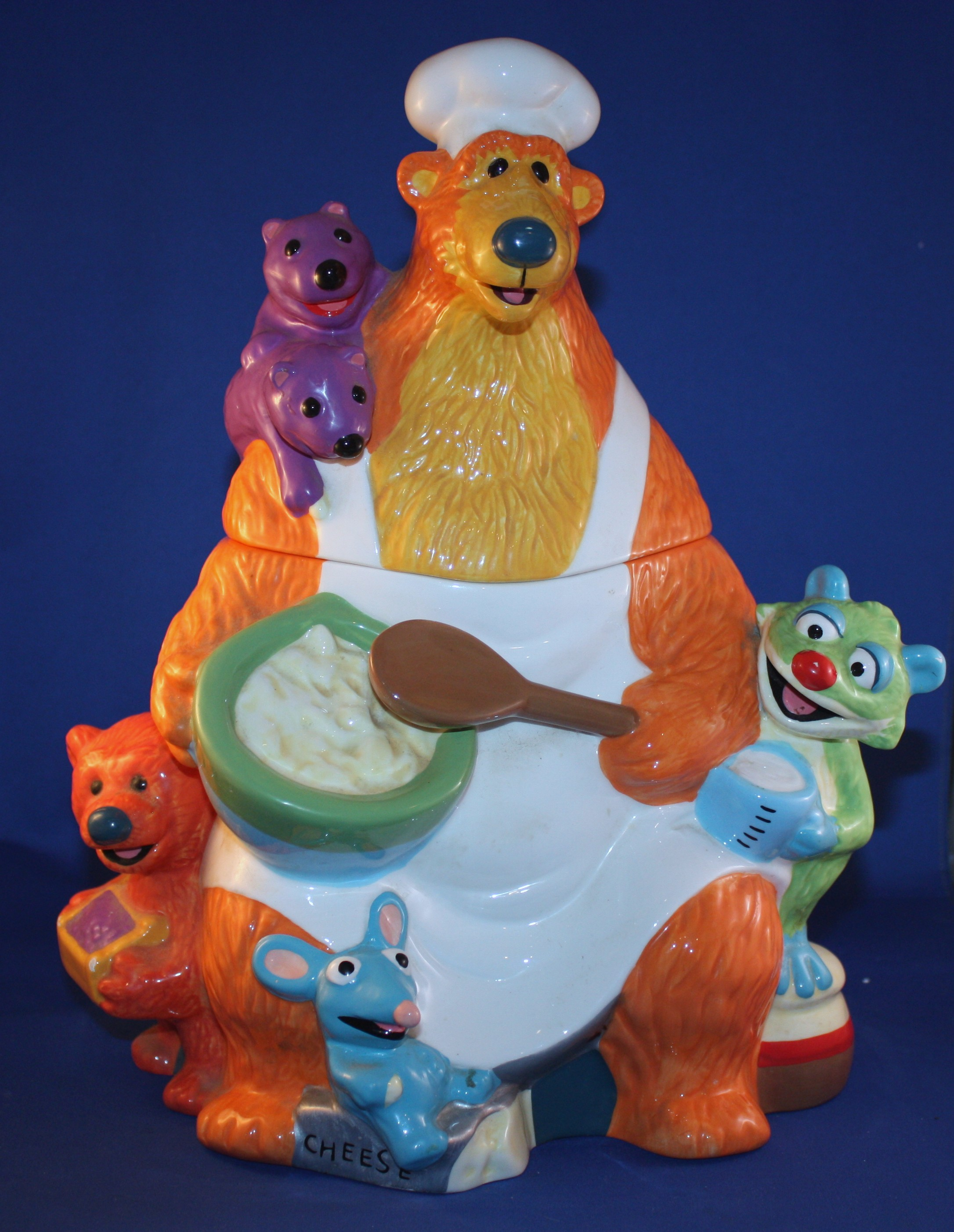 BEAR IN THE BIG BLUE HOUSE From Disney (Kitchen Collectibles-Cookie ...