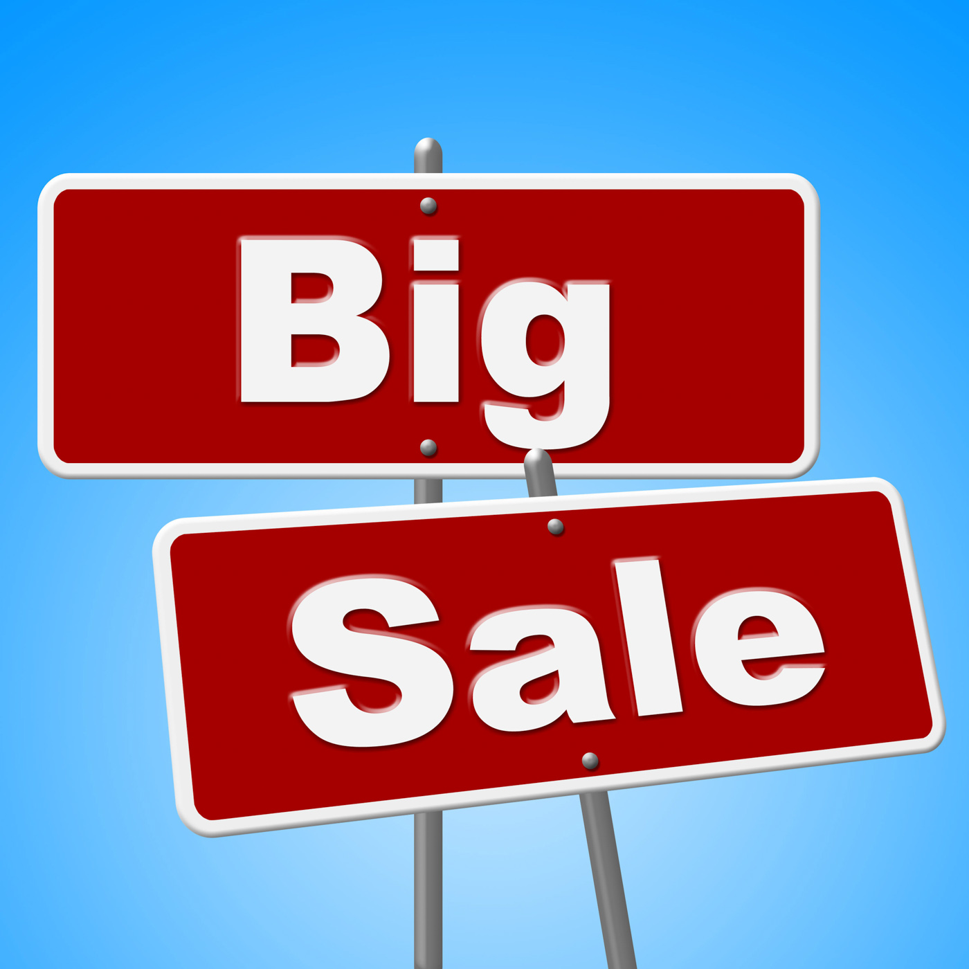 Big Sale Signs Indicates Offer Save And Promotion, Promotional, Signs, Signboard, Sign, HQ Photo